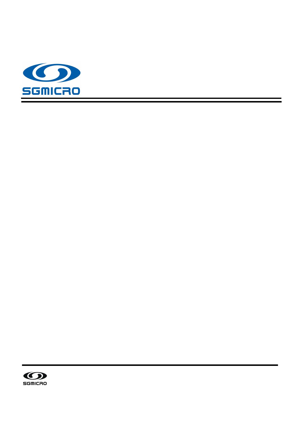 SGM8951 datasheet, circuit