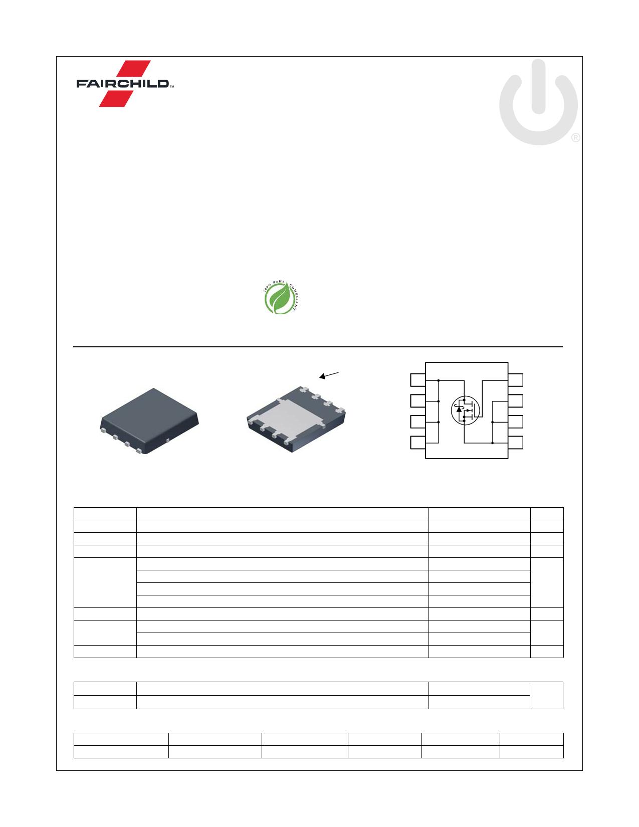 FDMS0309AS 데이터시트 및 FDMS0309AS PDF