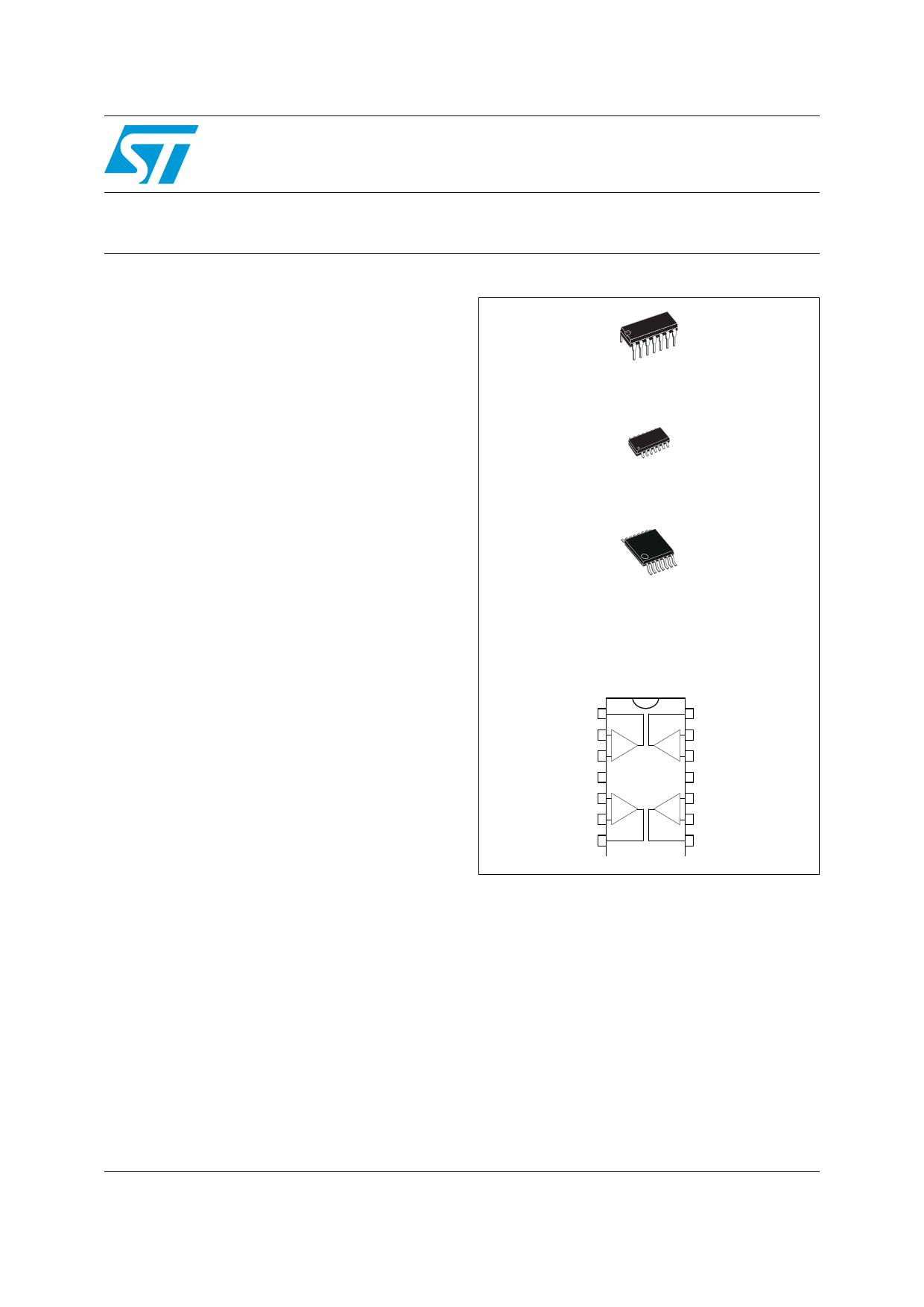 TS27L4 Datasheet, TS27L4 PDF,ピン配置, 機能