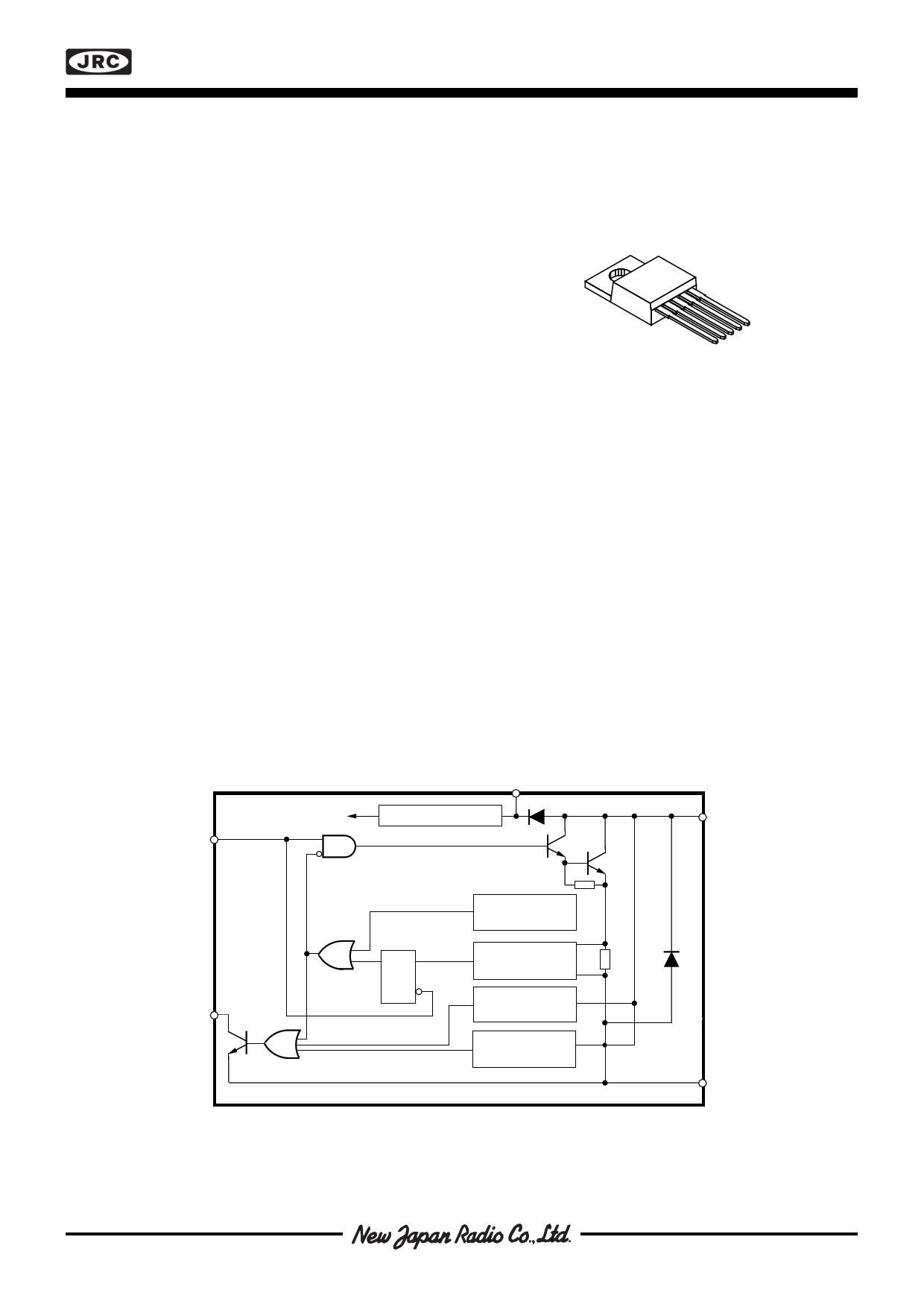 NJM3545 Datasheet, NJM3545 PDF,ピン配置, 機能