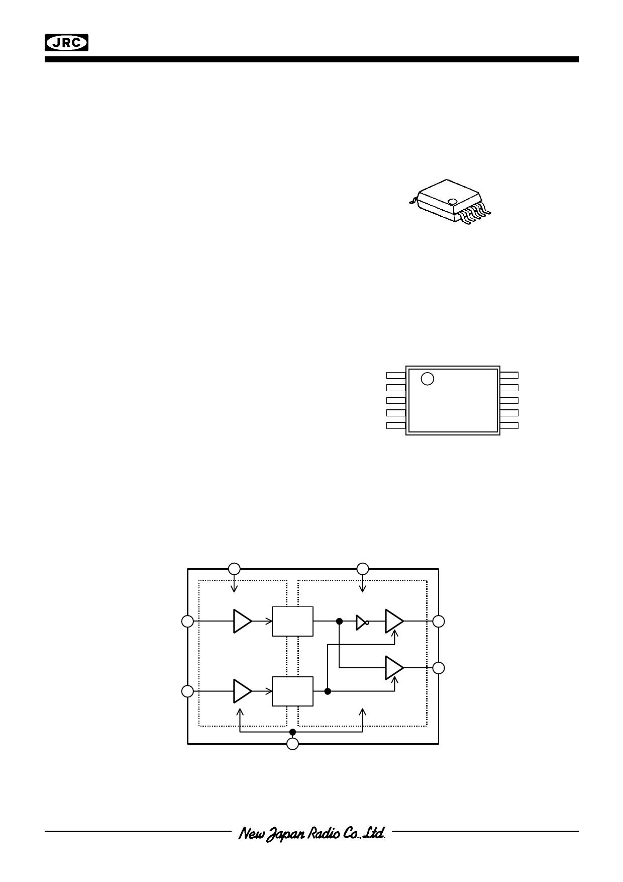 NJU8789 دیتاشیت PDF