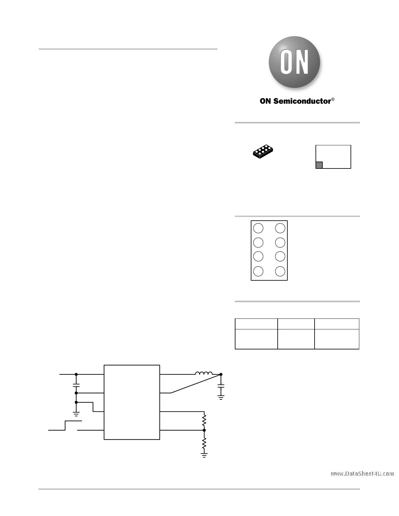 NCP1523 دیتاشیت PDF