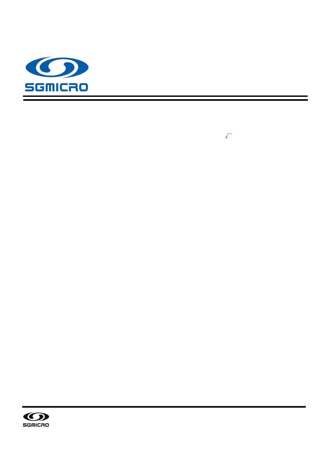SGM8933 datasheet, circuit