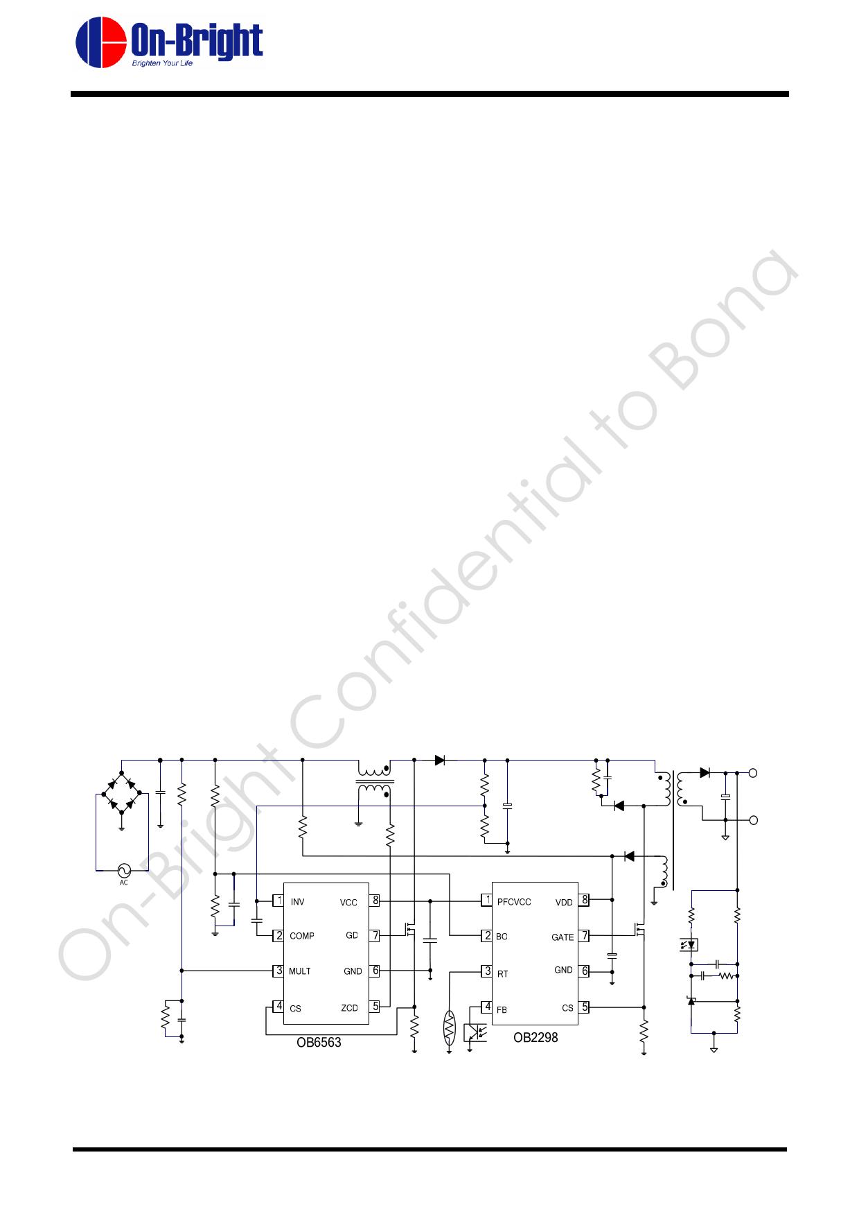 OB2298 دیتاشیت PDF