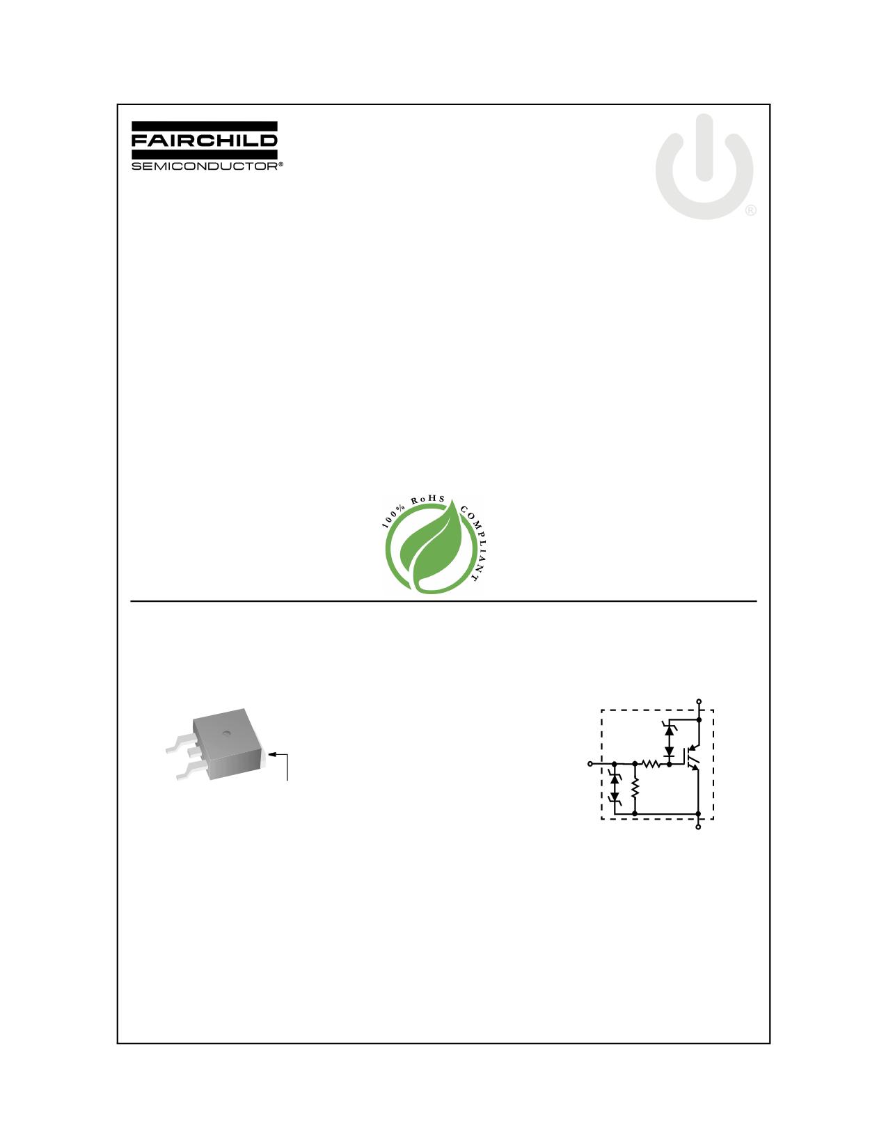 ISL9V2540S3ST 데이터시트 및 ISL9V2540S3ST PDF
