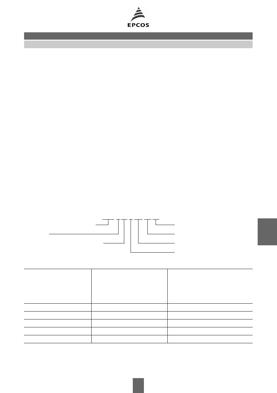 B72205 Datasheet, B72205 PDF,ピン配置, 機能