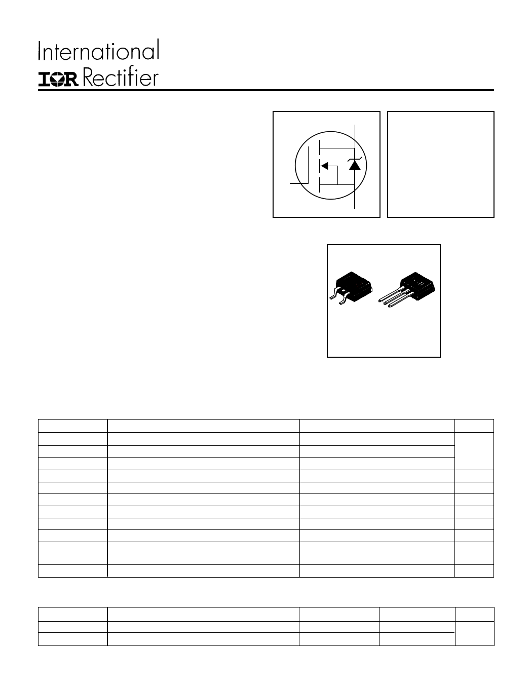 IRFZ46S Datasheet, IRFZ46S PDF,ピン配置, 機能