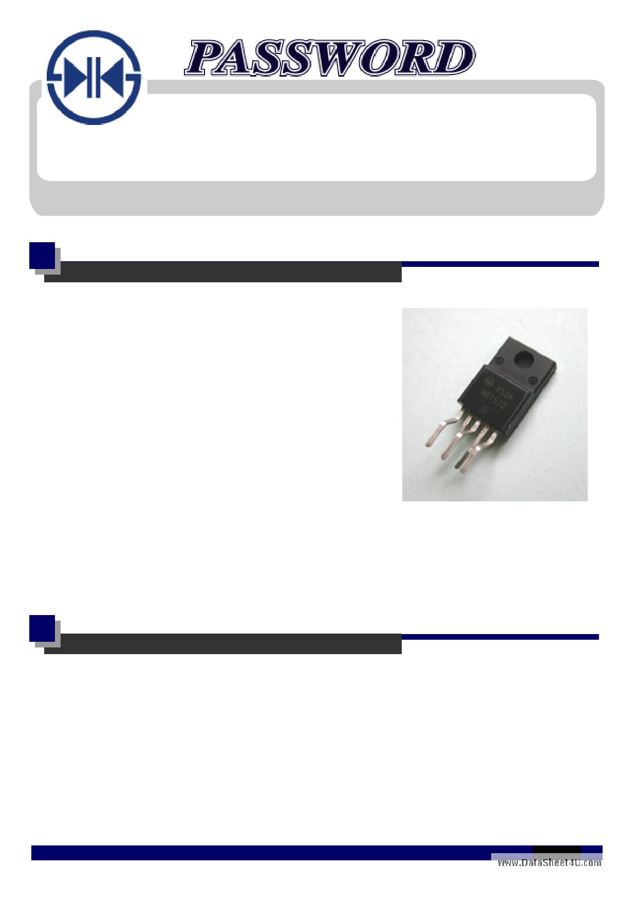 MR1721 datasheet, circuit
