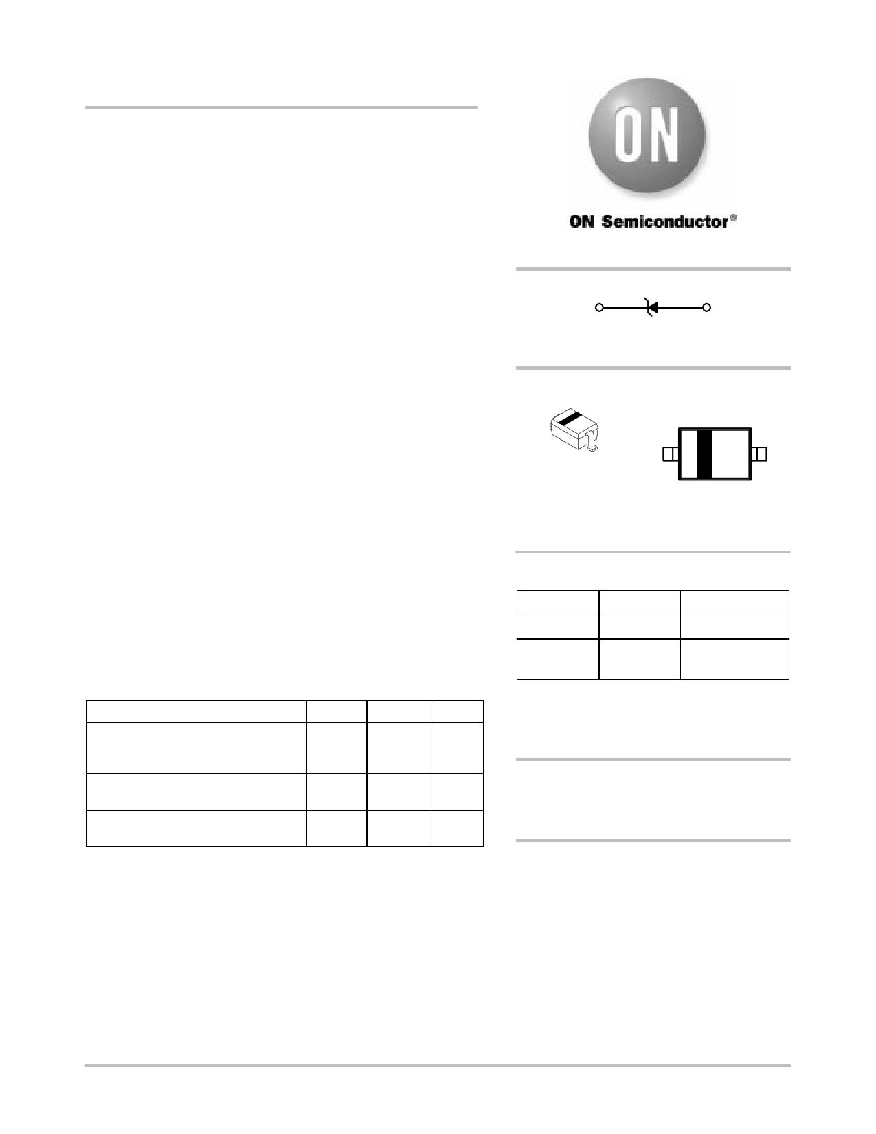 MM3Z9V1T1 datasheet, circuit