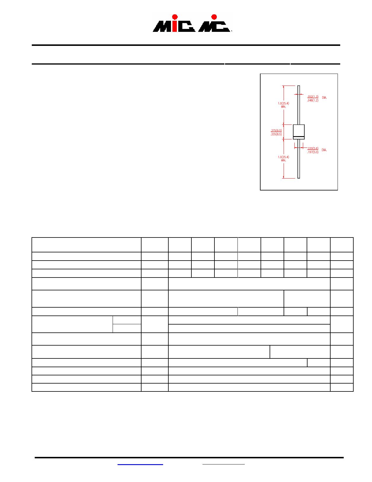 HER503G Datasheet, HER503G PDF,ピン配置, 機能
