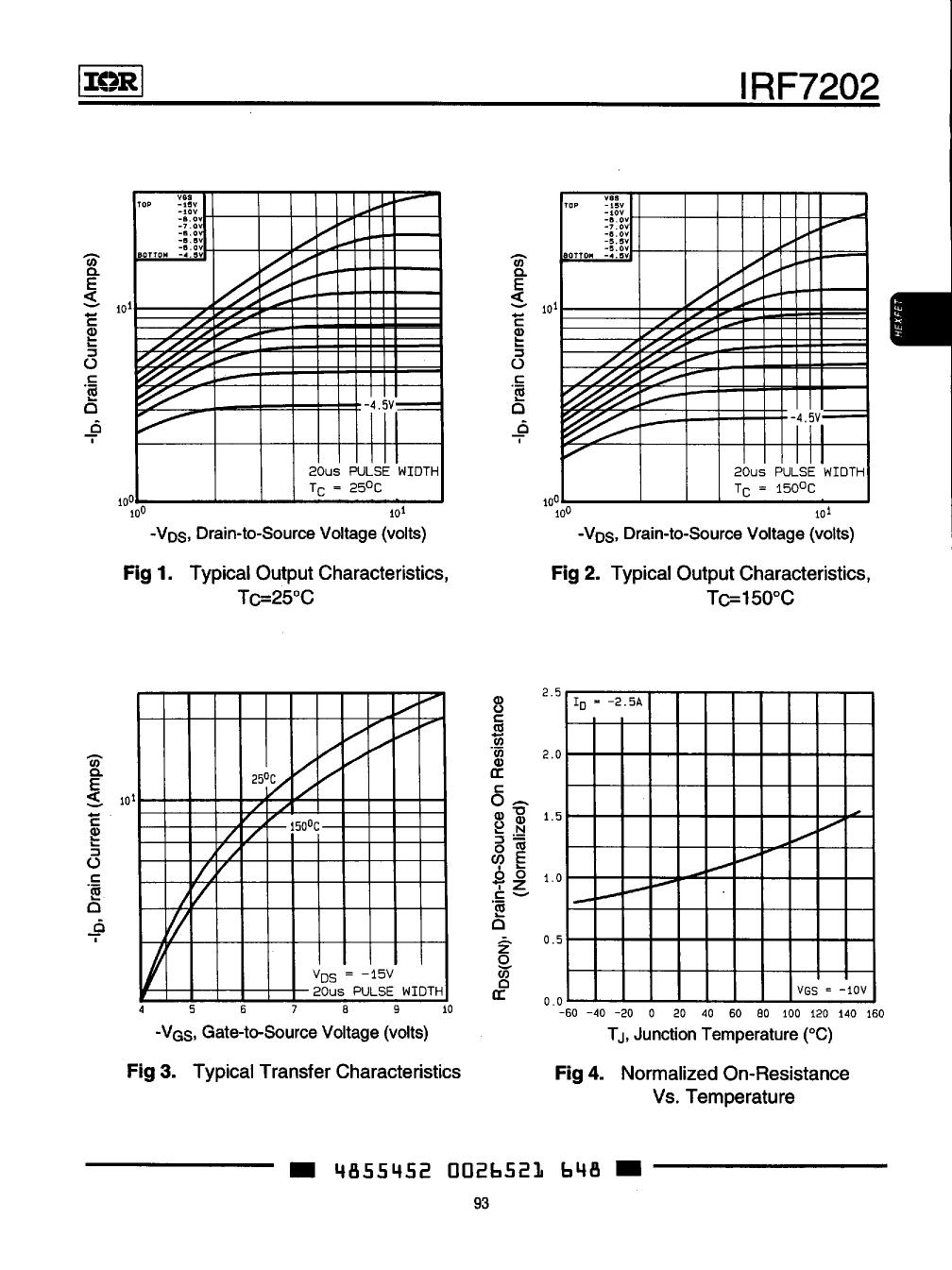 IRF7202 pdf, ピン配列