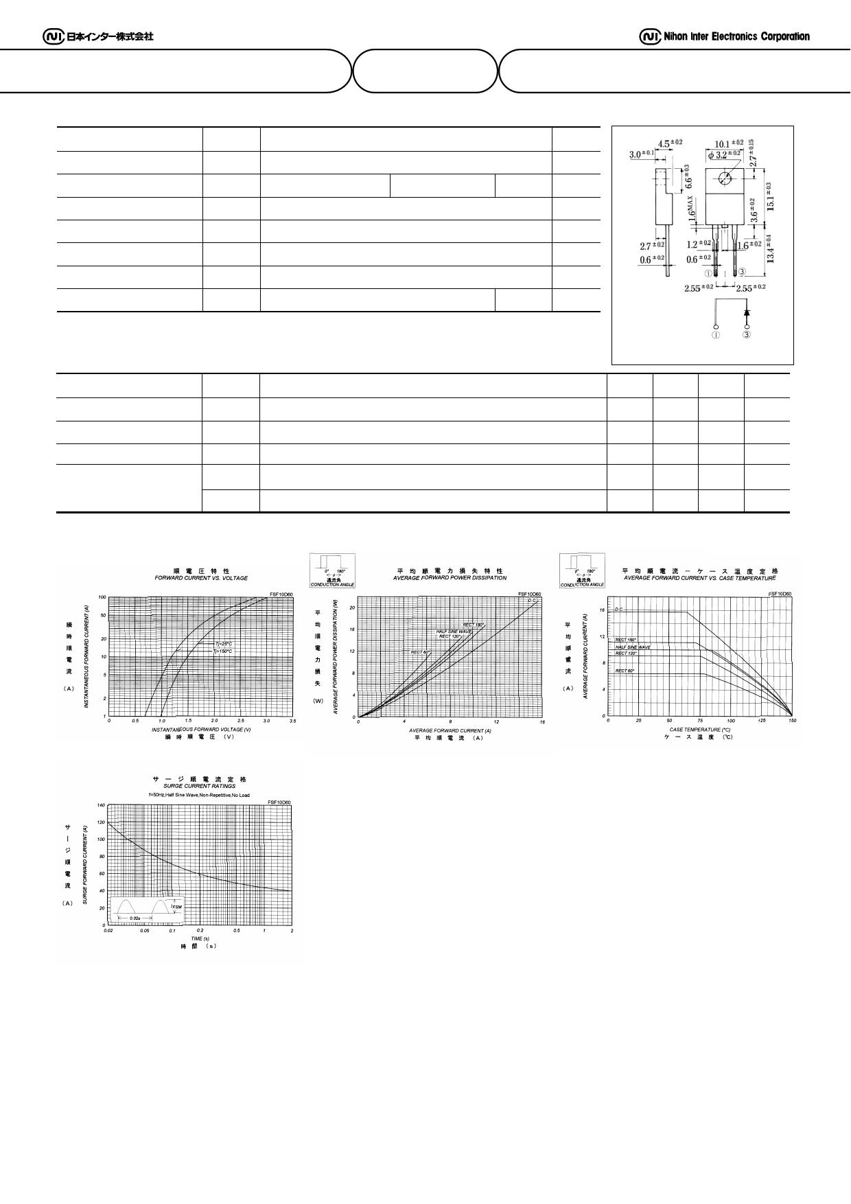 FSF10D60 datasheet