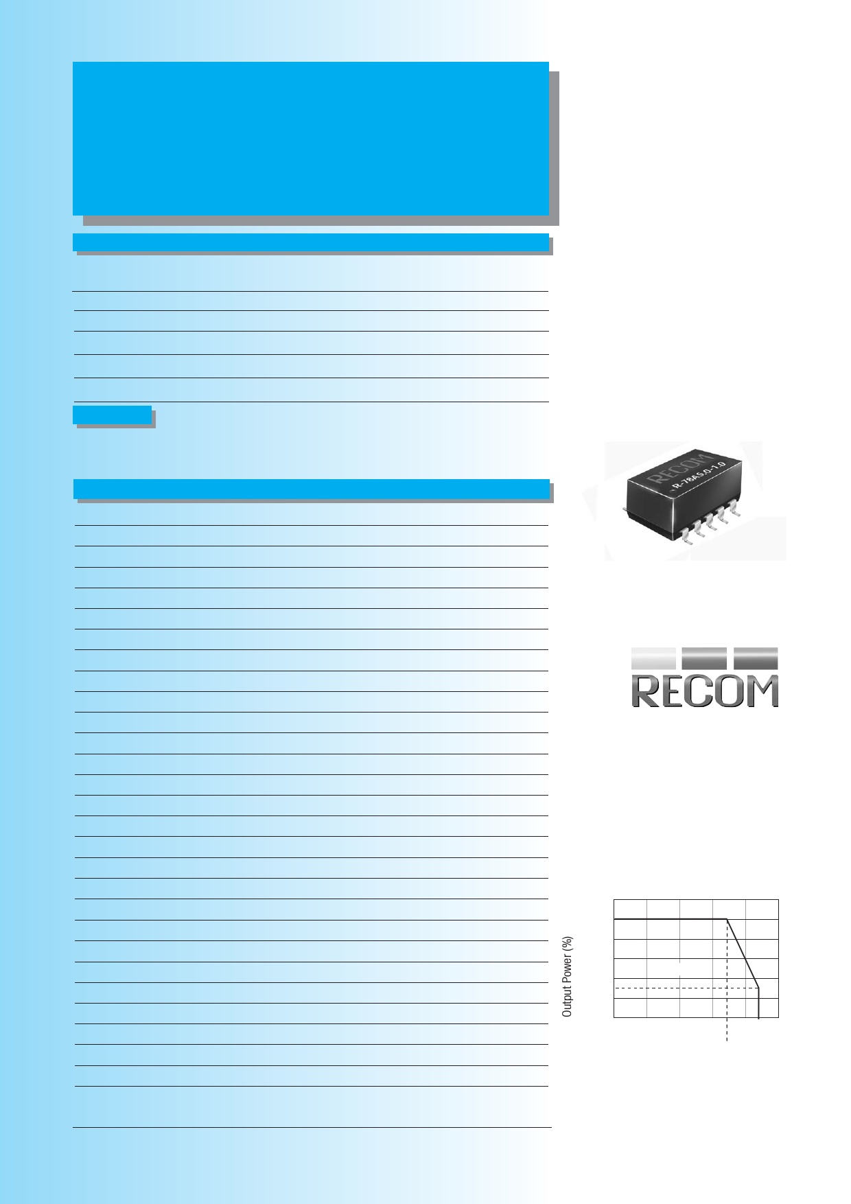 R-78A1.8-1.0SMD دیتاشیت PDF