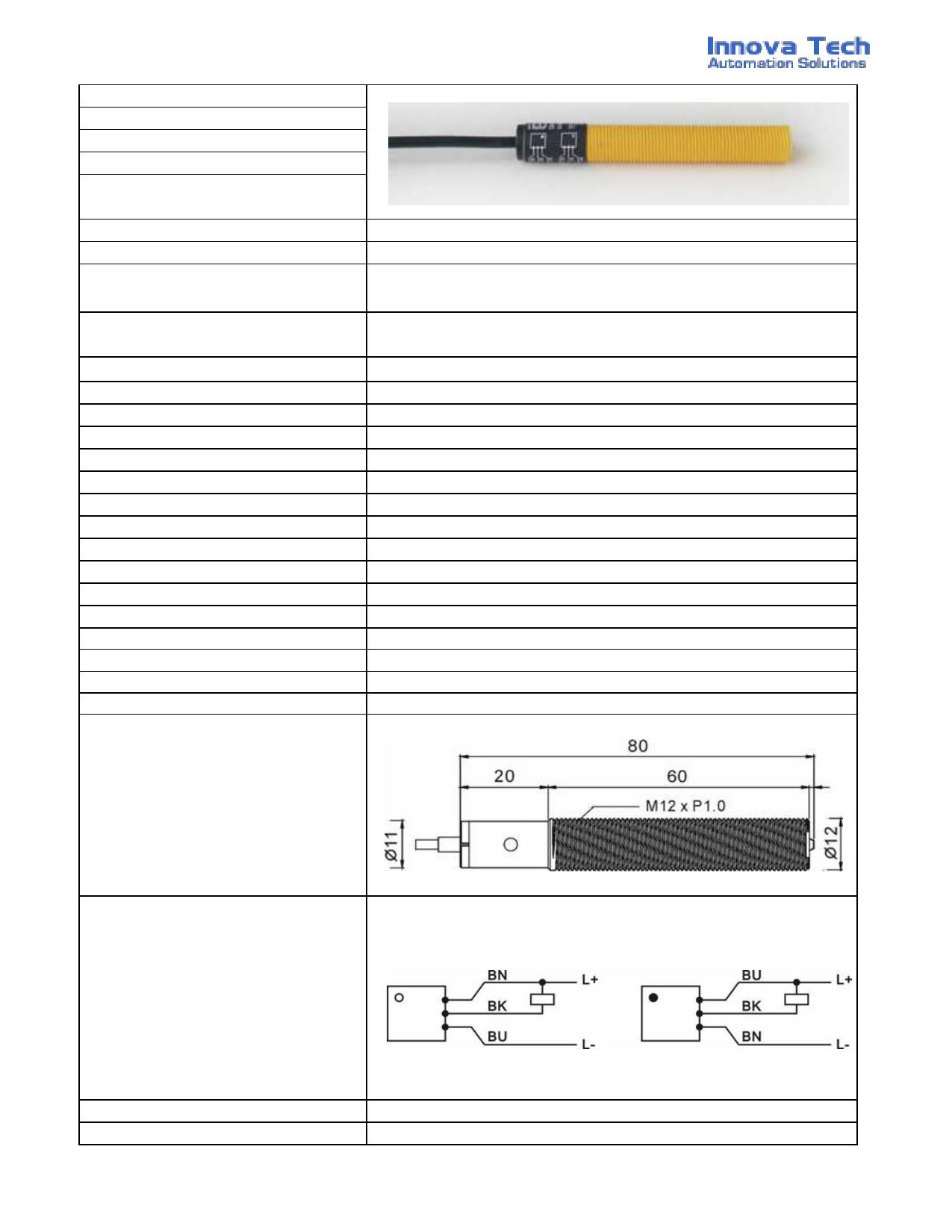 OB1206 دیتاشیت PDF
