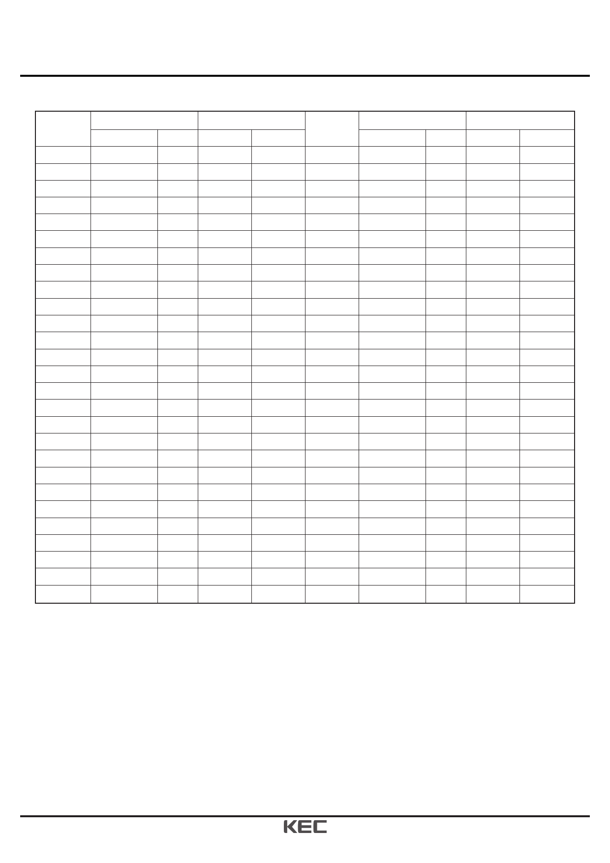 KIC7118 pdf, ピン配列