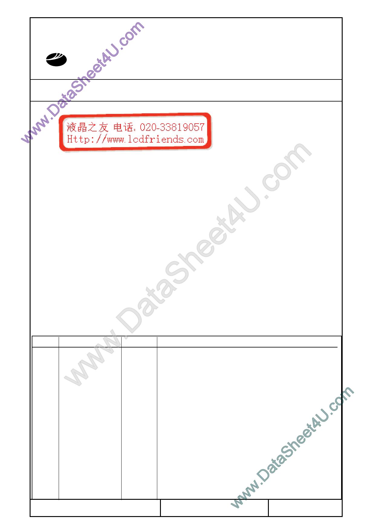 T-51381L064J_FW_P_AC Даташит, Описание, Даташиты