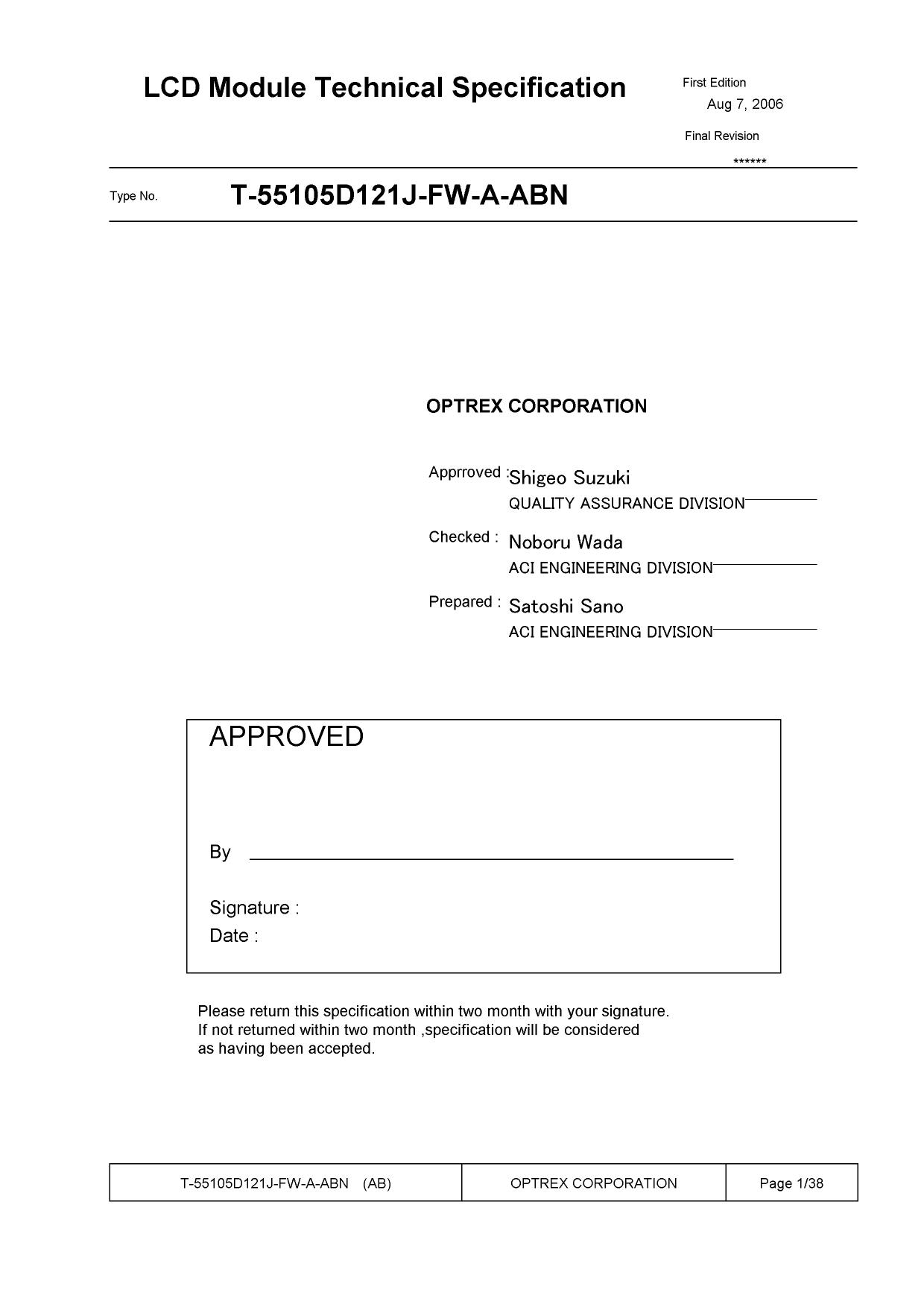 T-55105D121J-FW-A-ABN دیتاشیت PDF