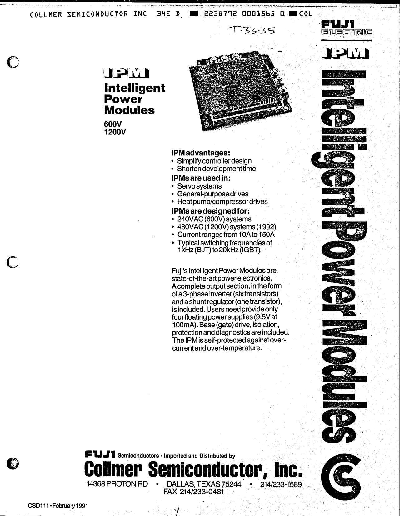 7MB30A-050EHR دیتاشیت PDF