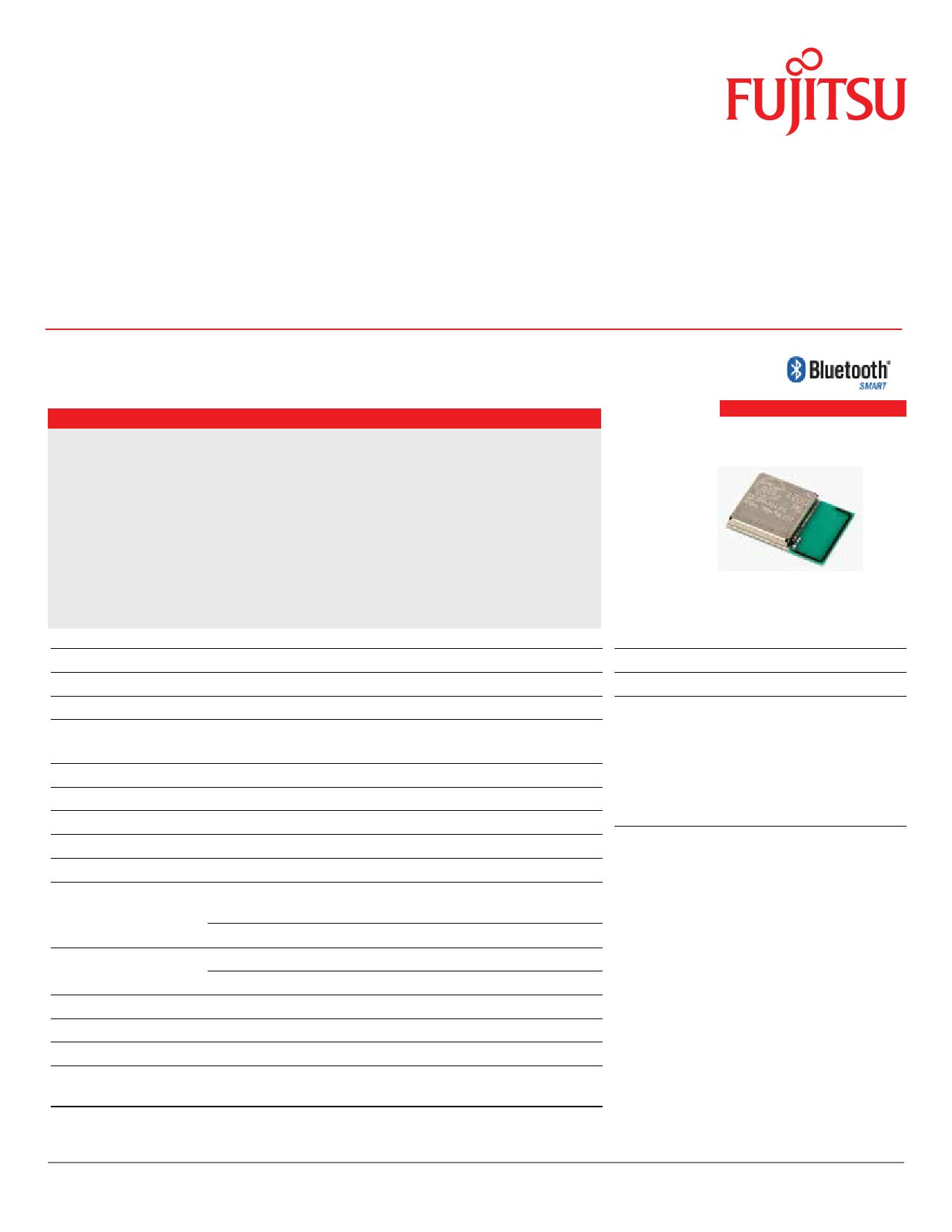 MBH7BLZ07-109033 데이터시트 및 MBH7BLZ07-109033 PDF