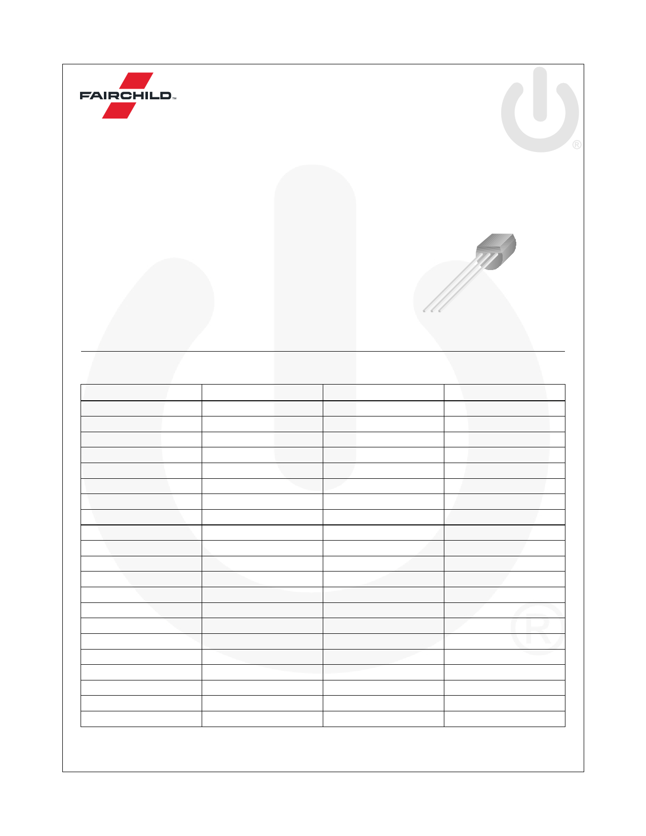 BC548 datasheet image