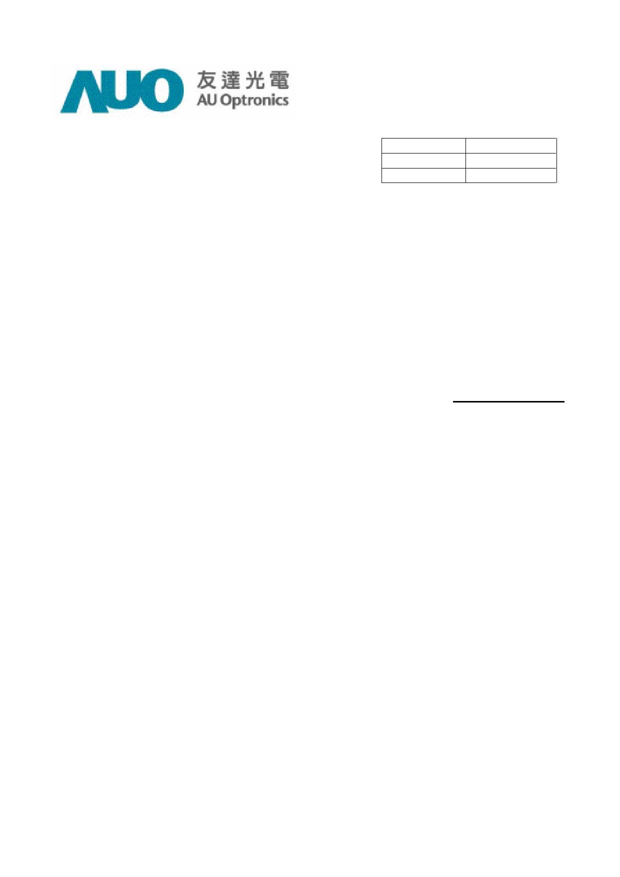 A085FW01_V7 datasheet, circuit