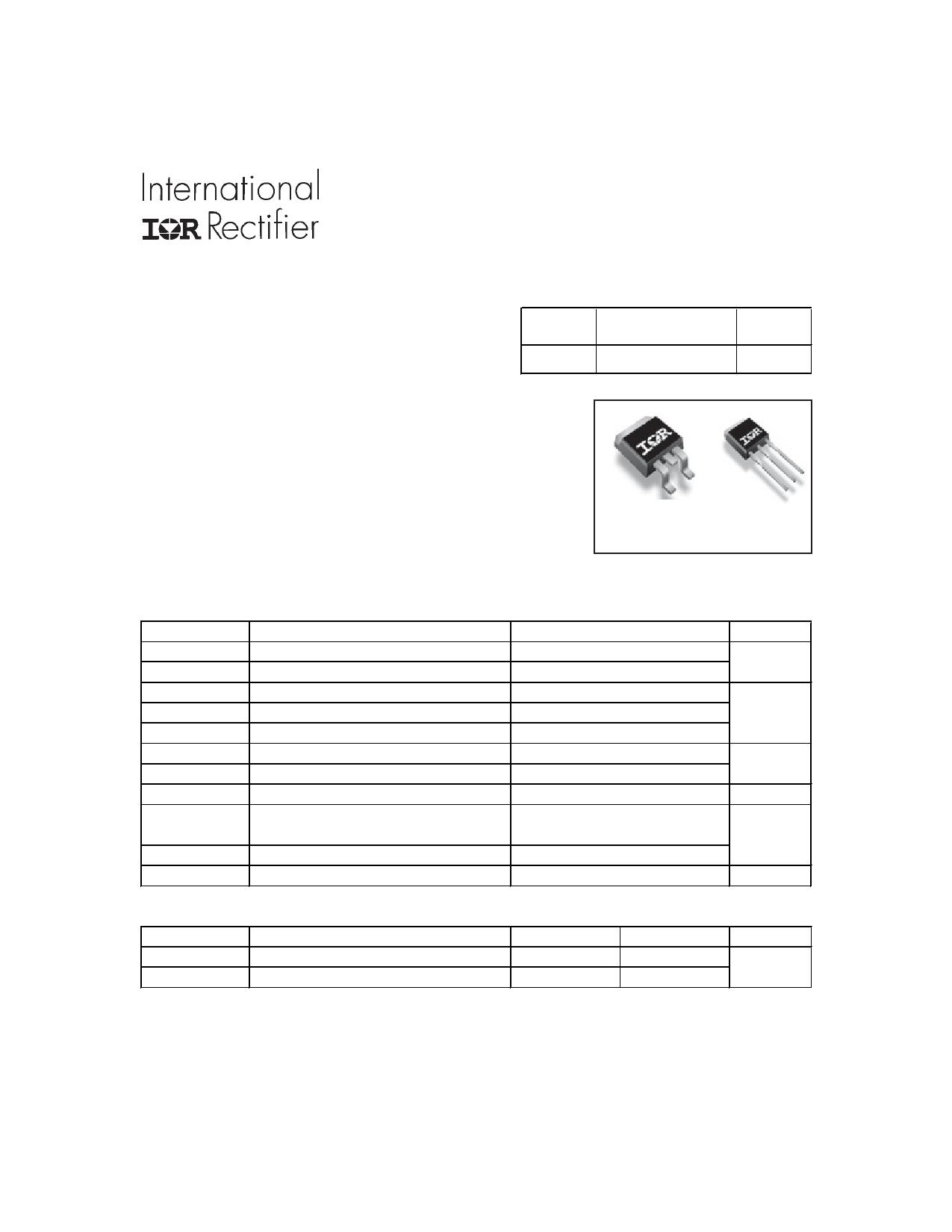 IRF3707ZCSPbF Datasheet, IRF3707ZCSPbF PDF,ピン配置, 機能