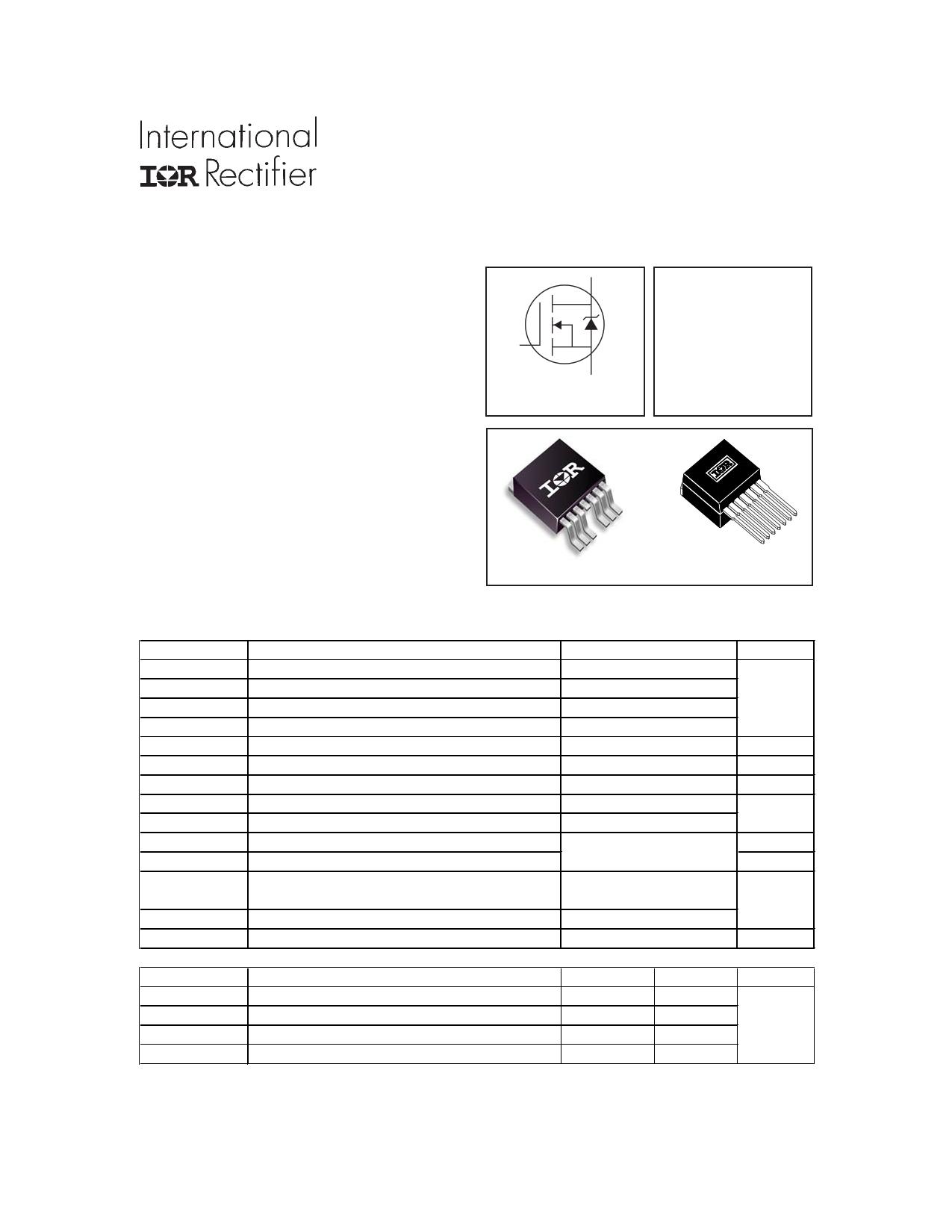 IRF1405ZL-7P Datasheet, IRF1405ZL-7P PDF,ピン配置, 機能