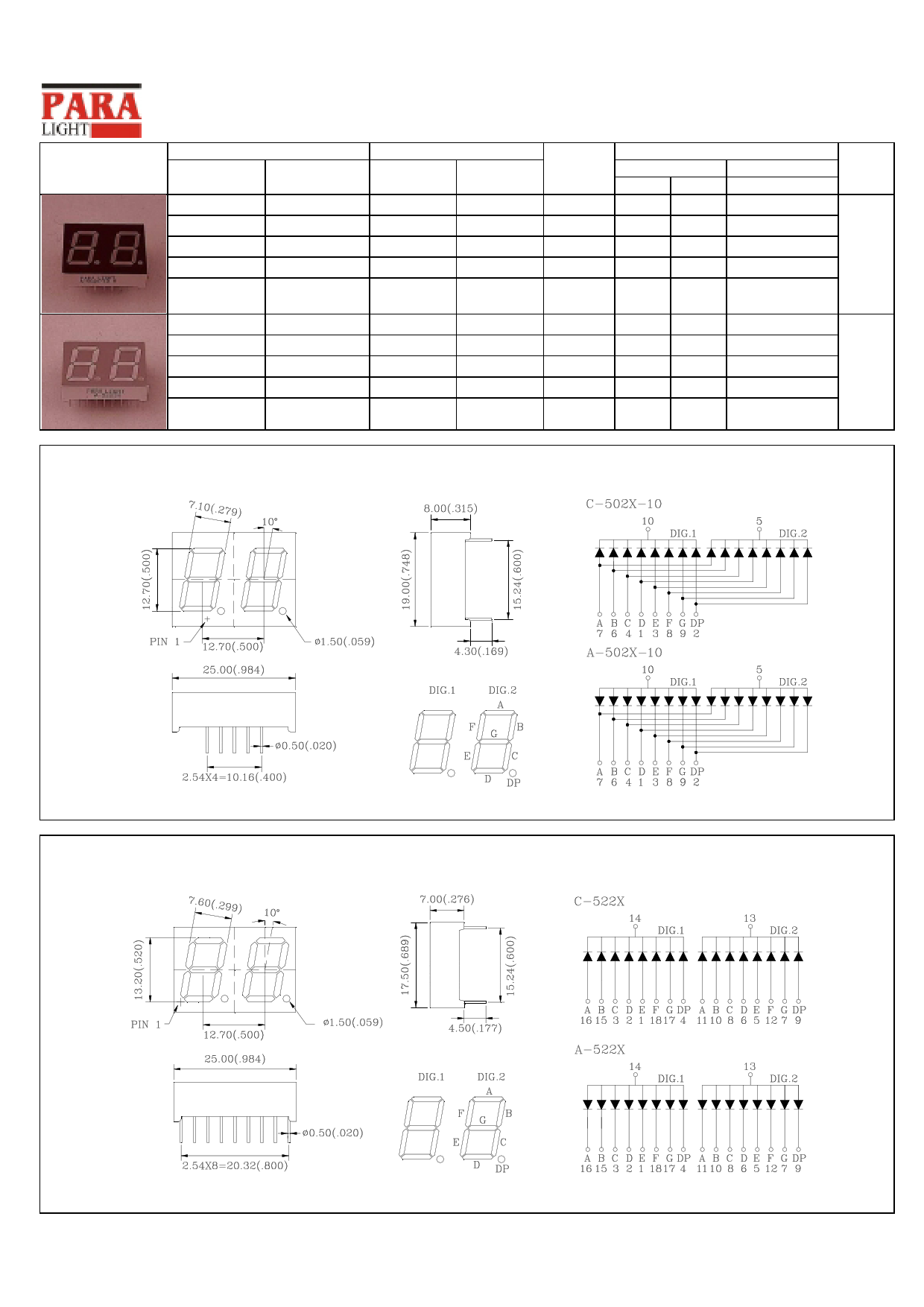 C-502G-10 datasheet