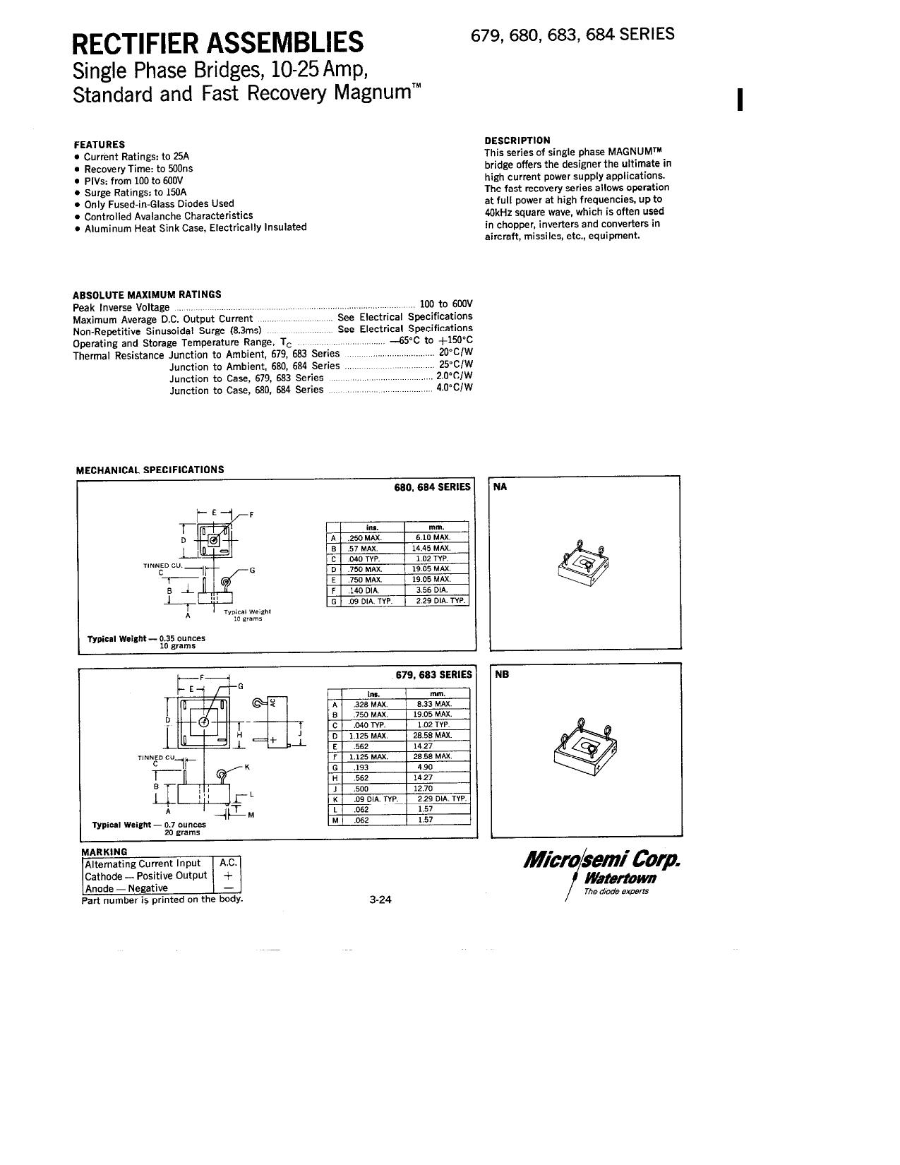 679-3 دیتاشیت PDF