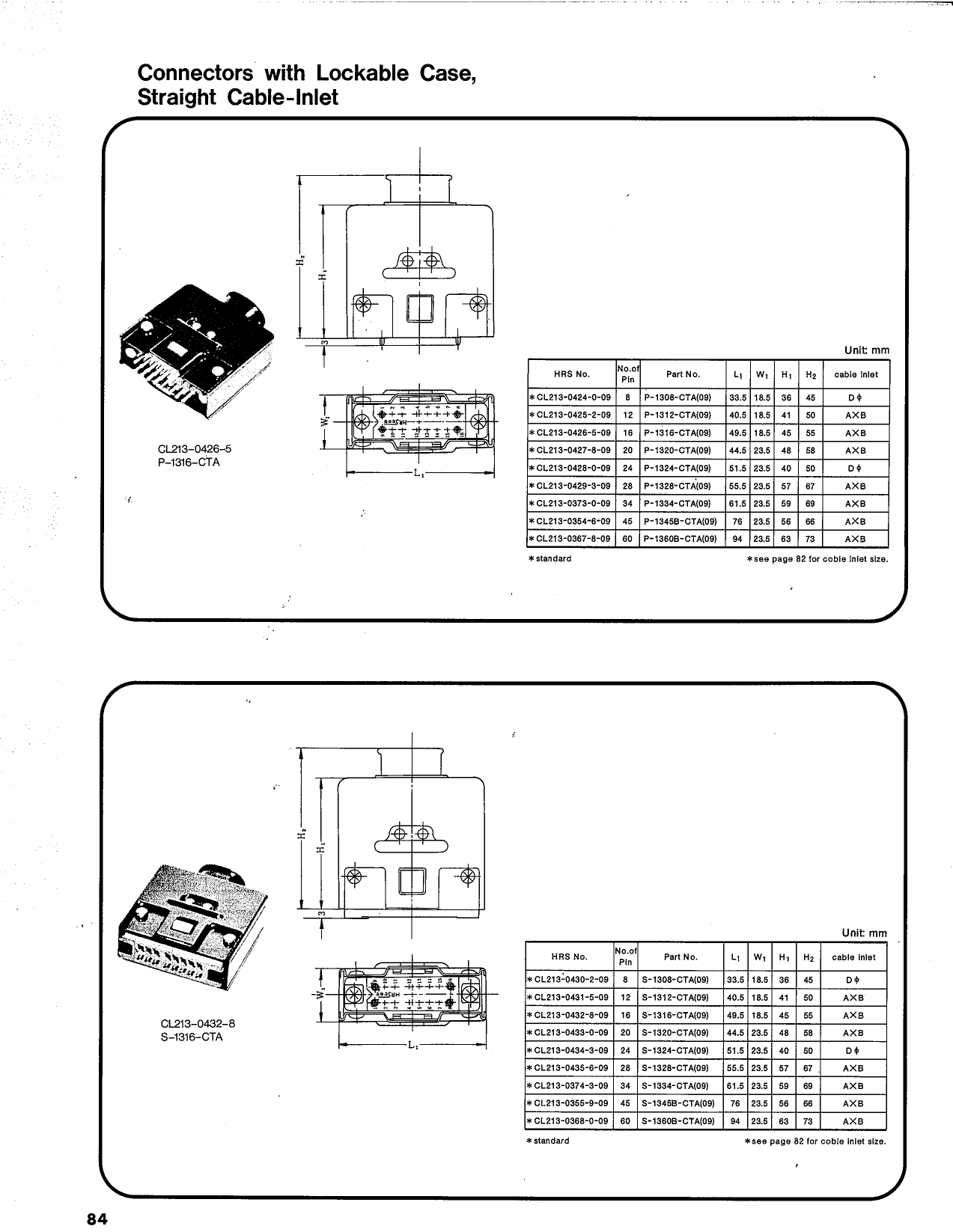 S-1360W-H pdf, ピン配列