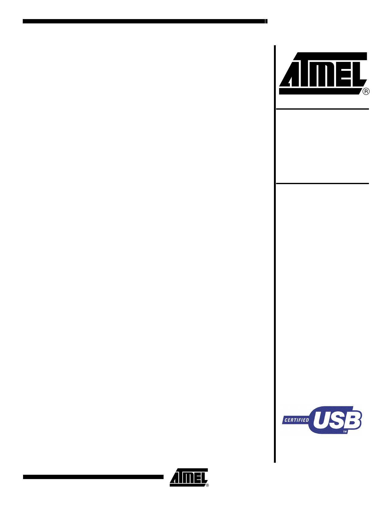 AT89C5131A-L datasheet