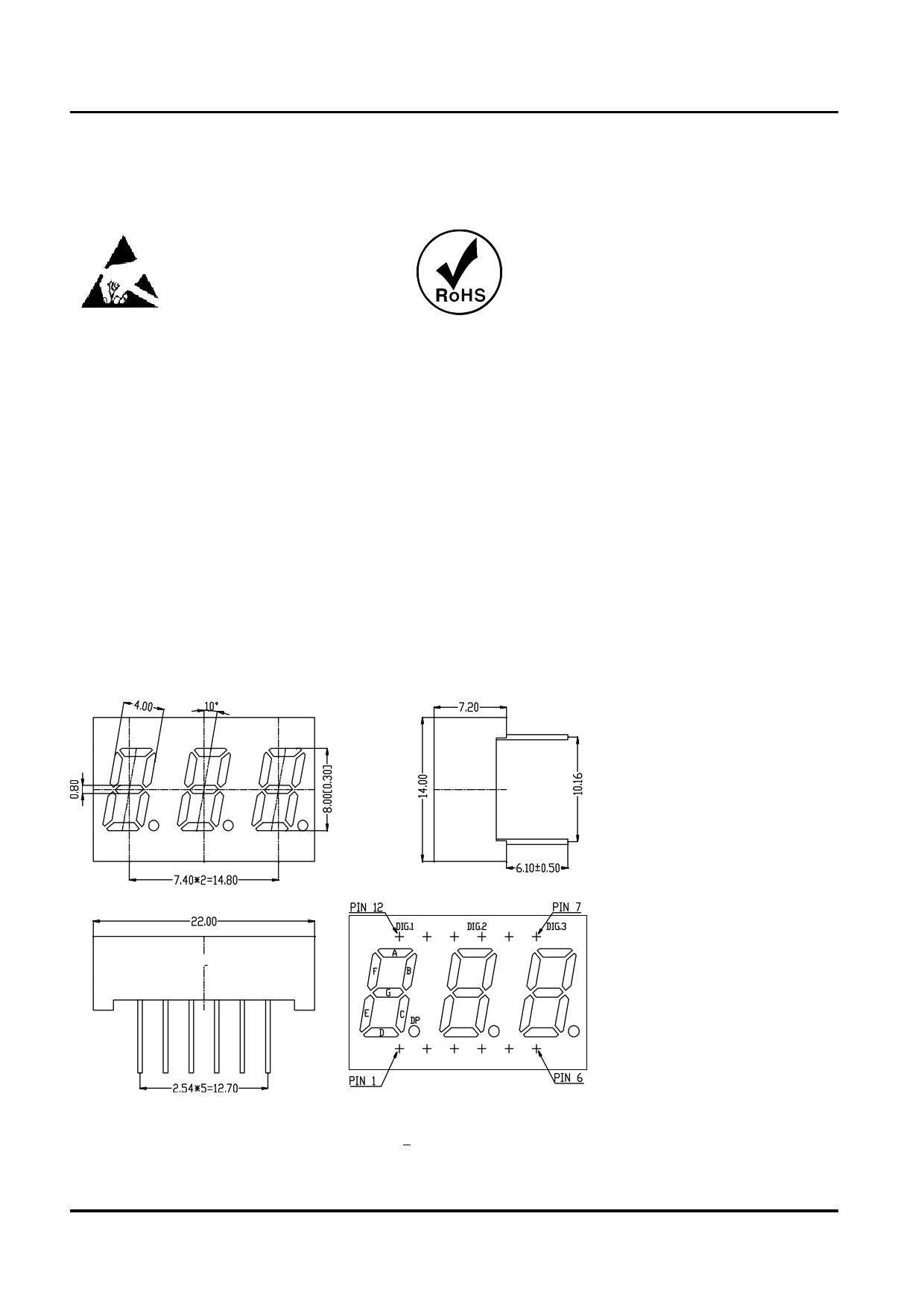 ld3031bub datasheet pdf   pinout