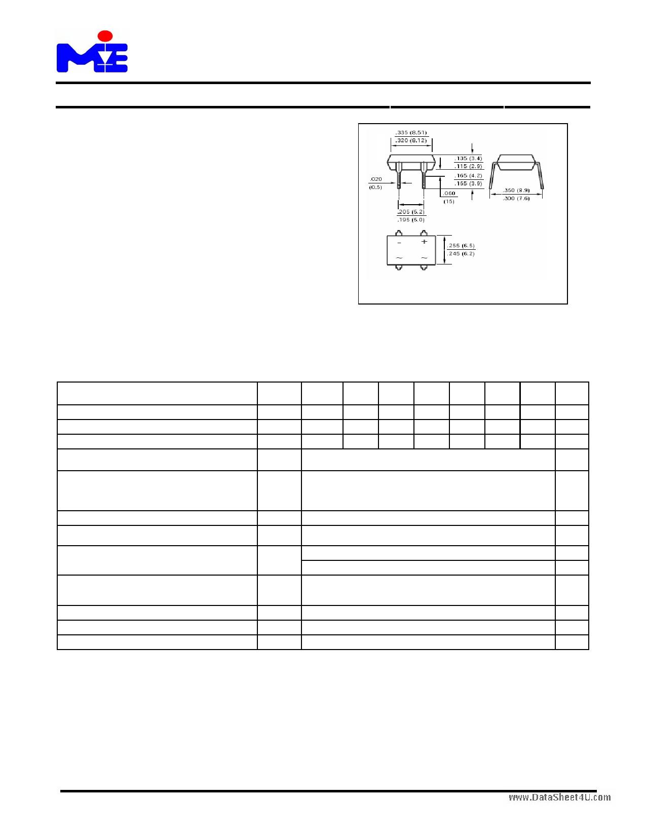 DF15005M даташит PDF