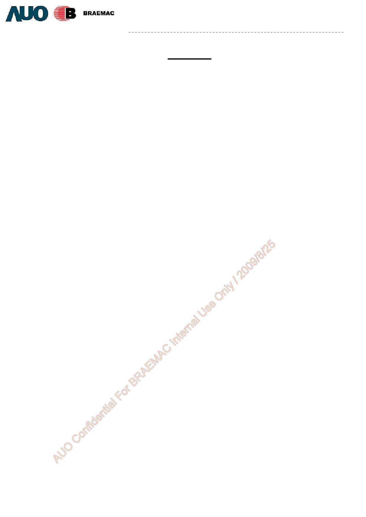 G070VW01_V0 Даташит, Описание, Даташиты