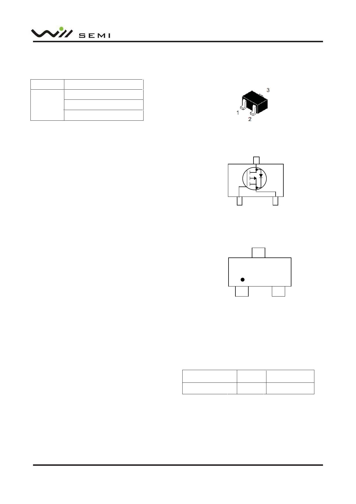 WPM2026 Hoja de datos, Descripción, Manual