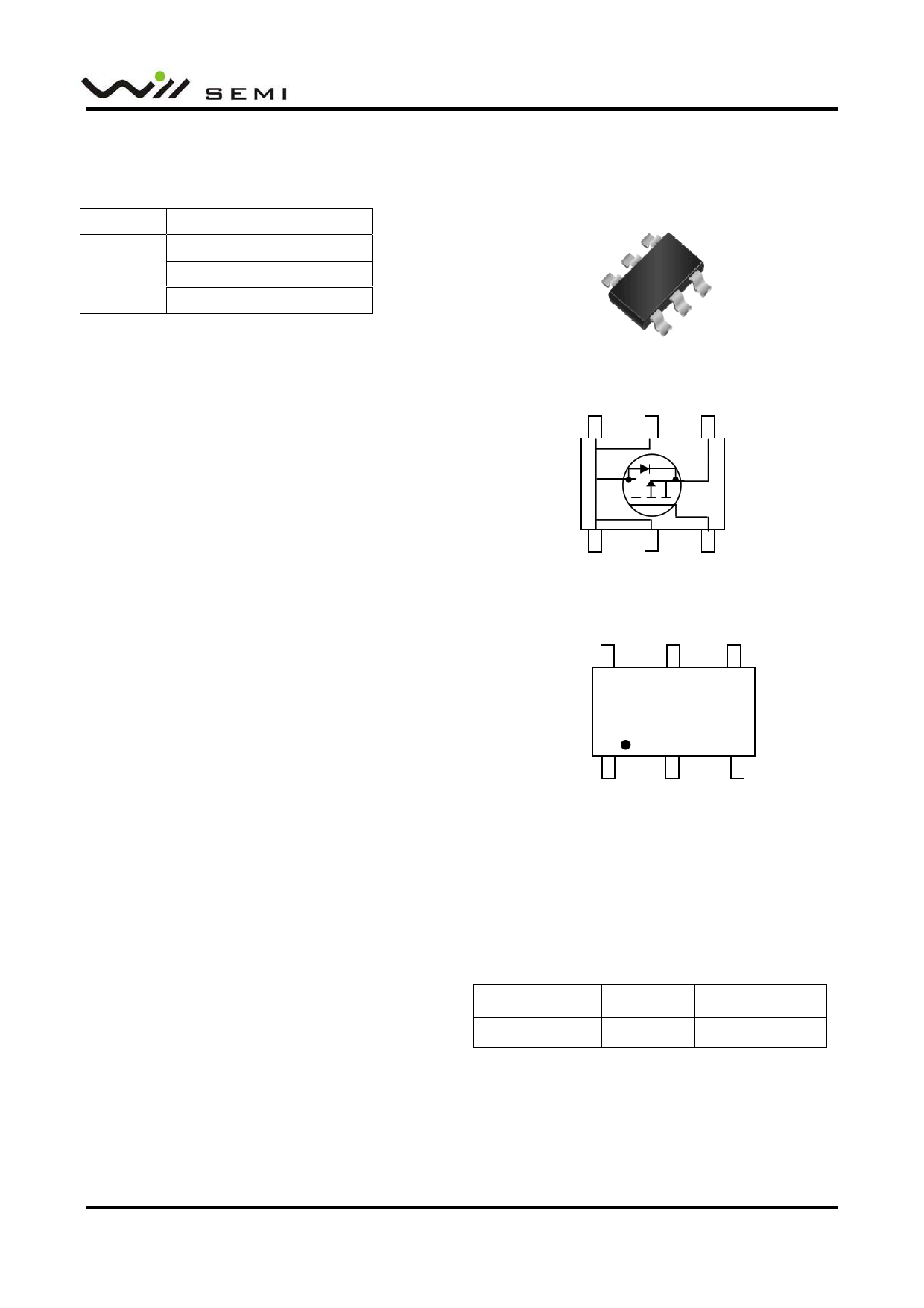 WPM2037 datasheet