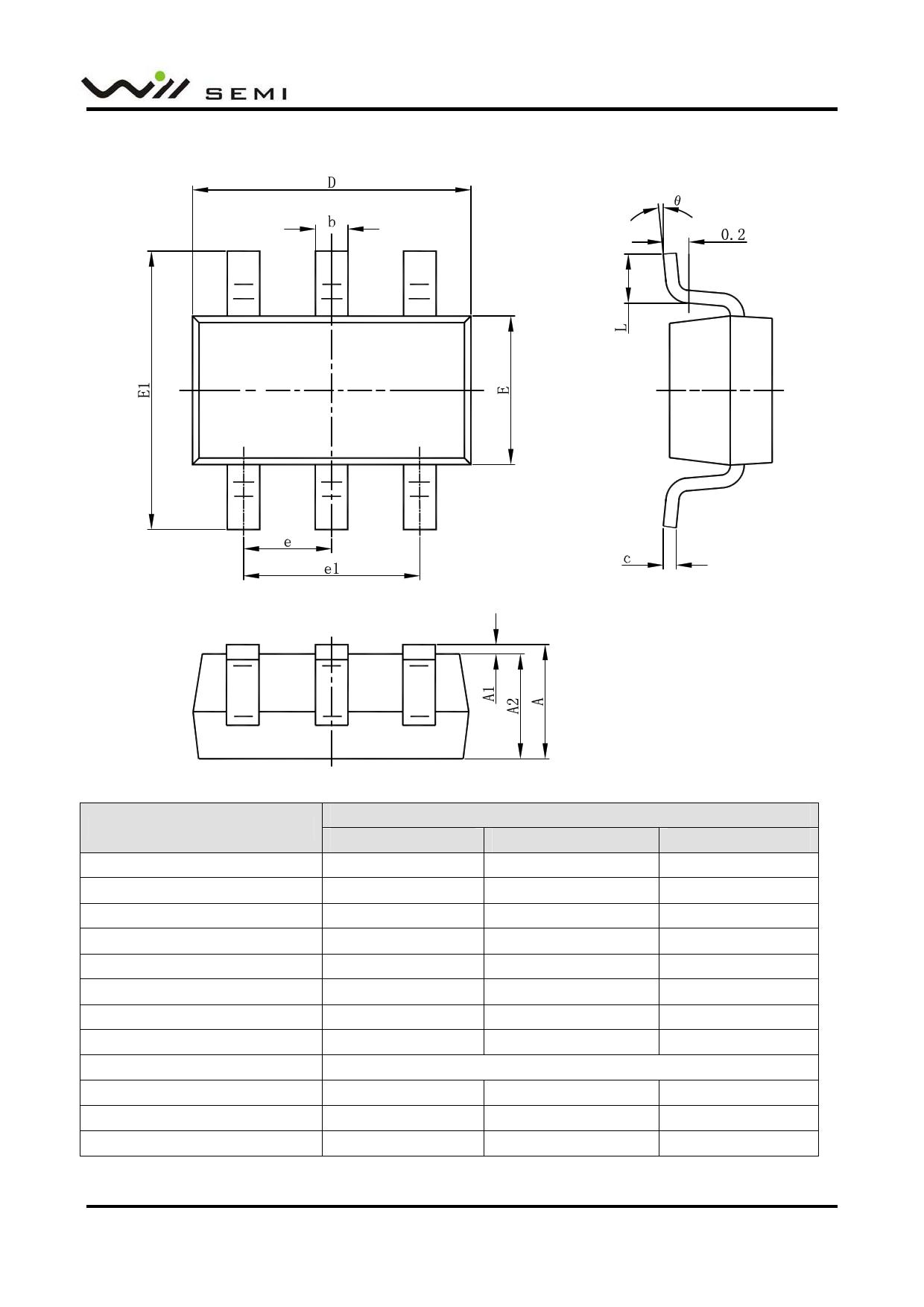 WPM2037 Datasheet, Funktion