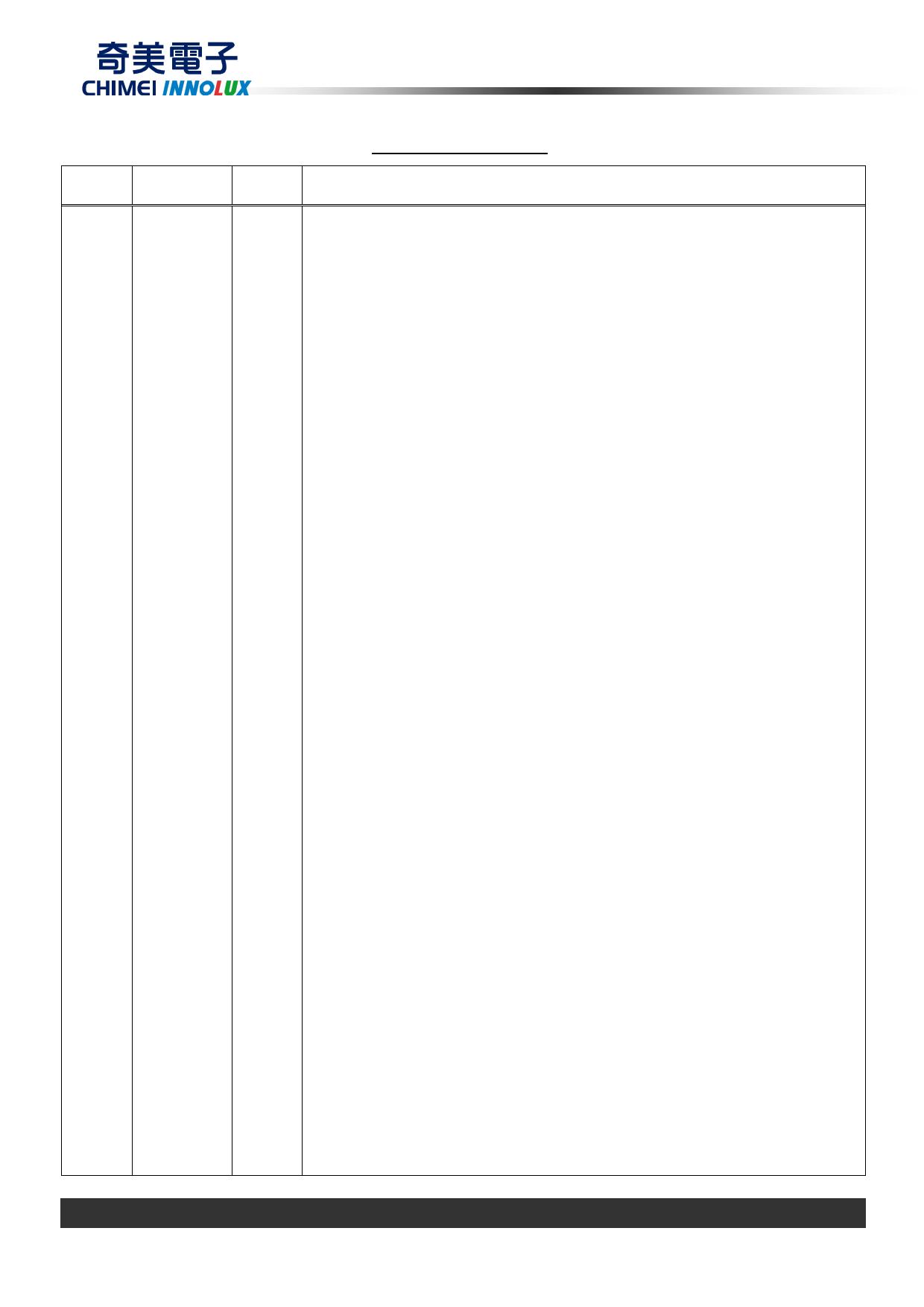 G104AGE-L02 pdf, ピン配列