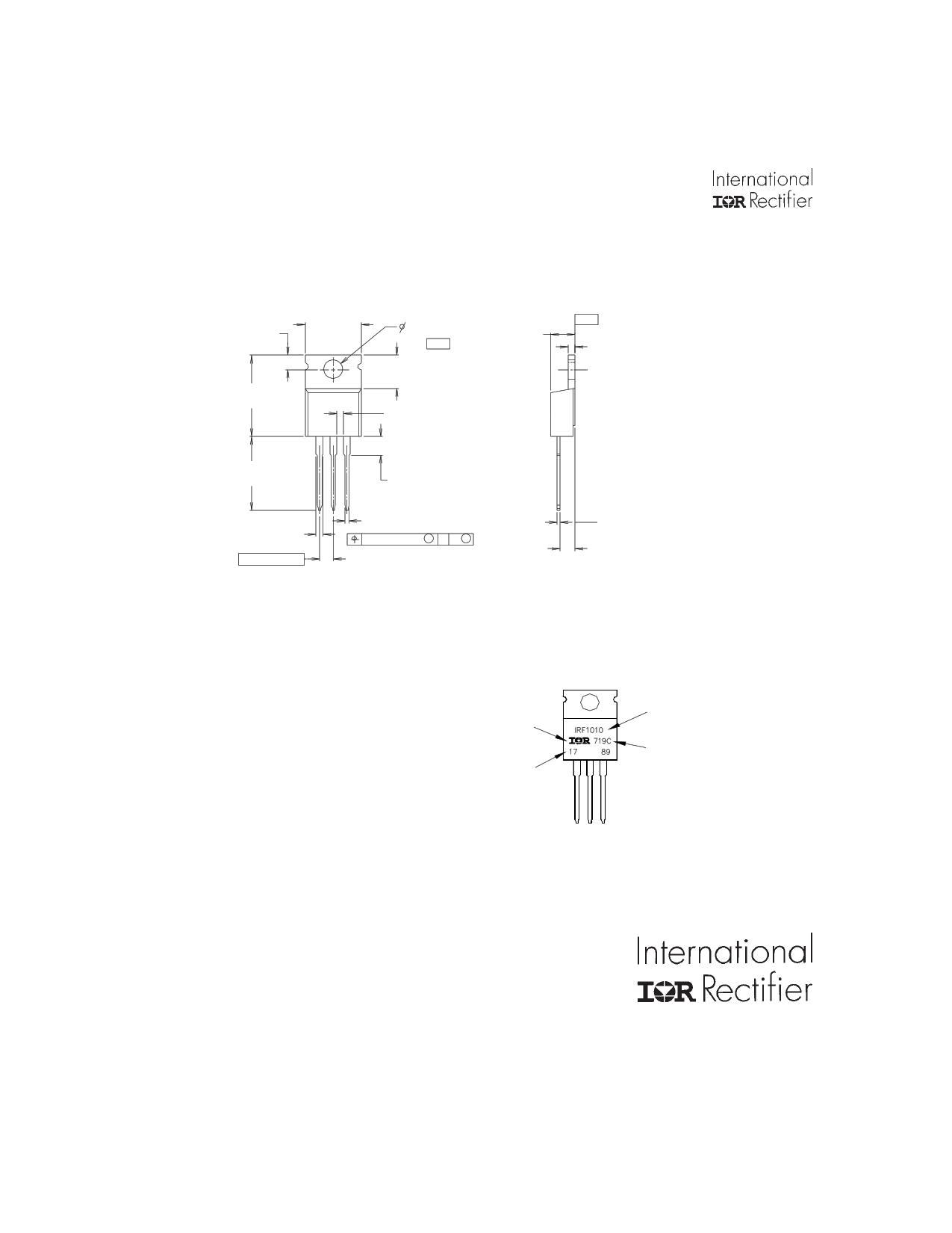 IRL3103D1PBF 電子部品, 半導体