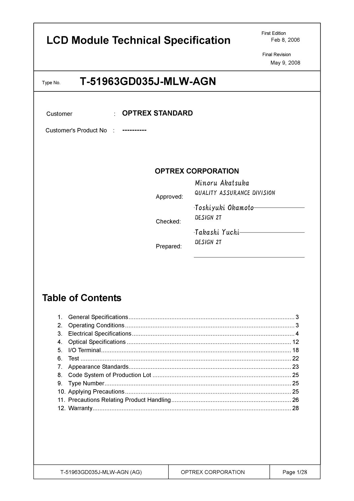 T-51963GD035J-MLW-AGN دیتاشیت PDF