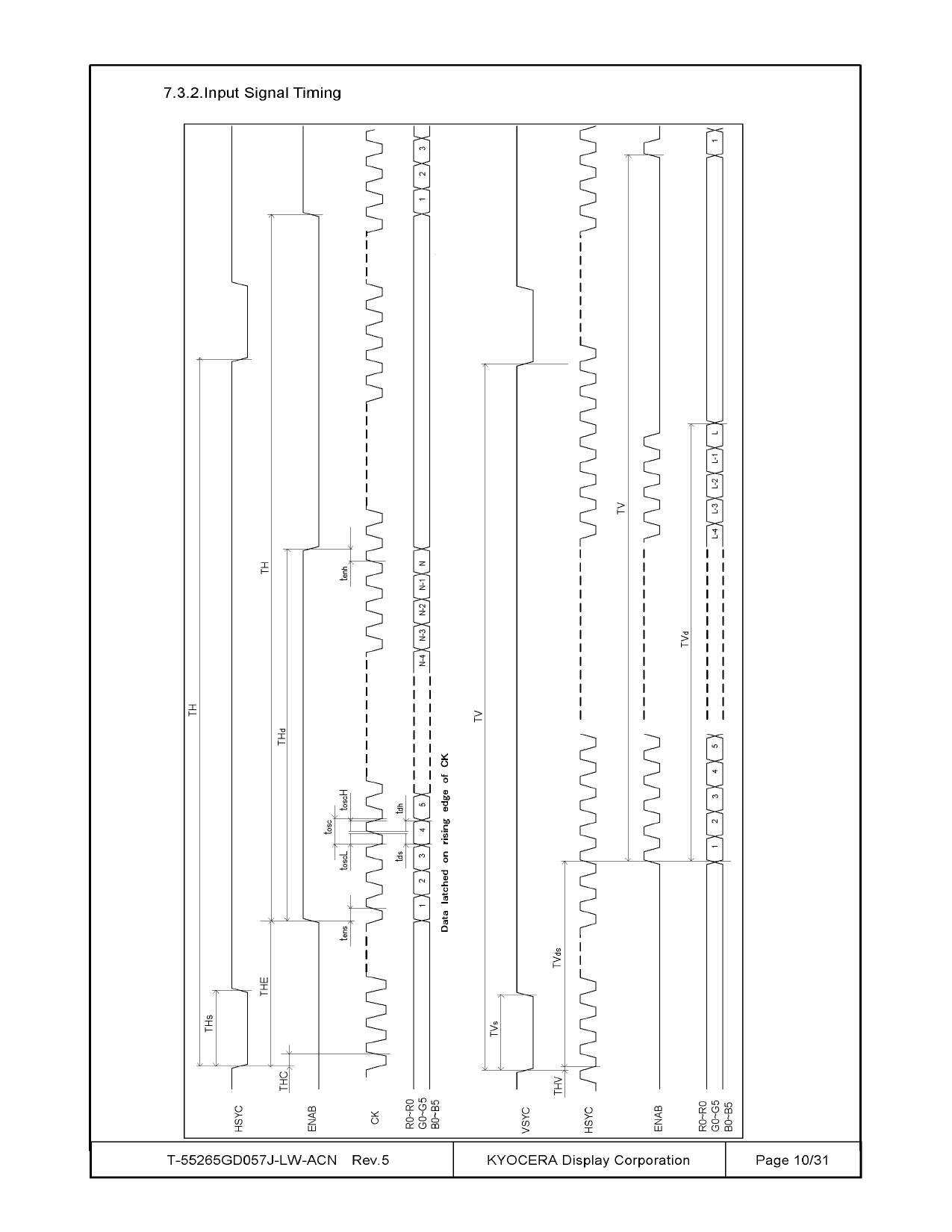 T-55265GD057J-LW-ACN arduino