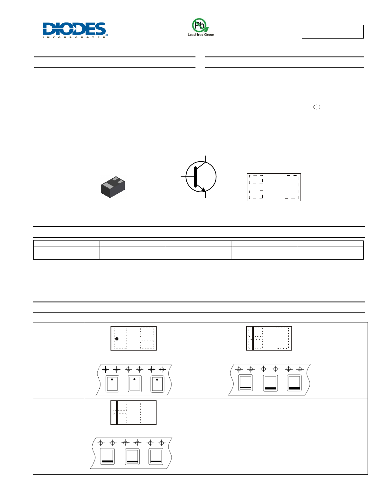 MMBT3904LP Datasheet, MMBT3904LP PDF,ピン配置, 機能