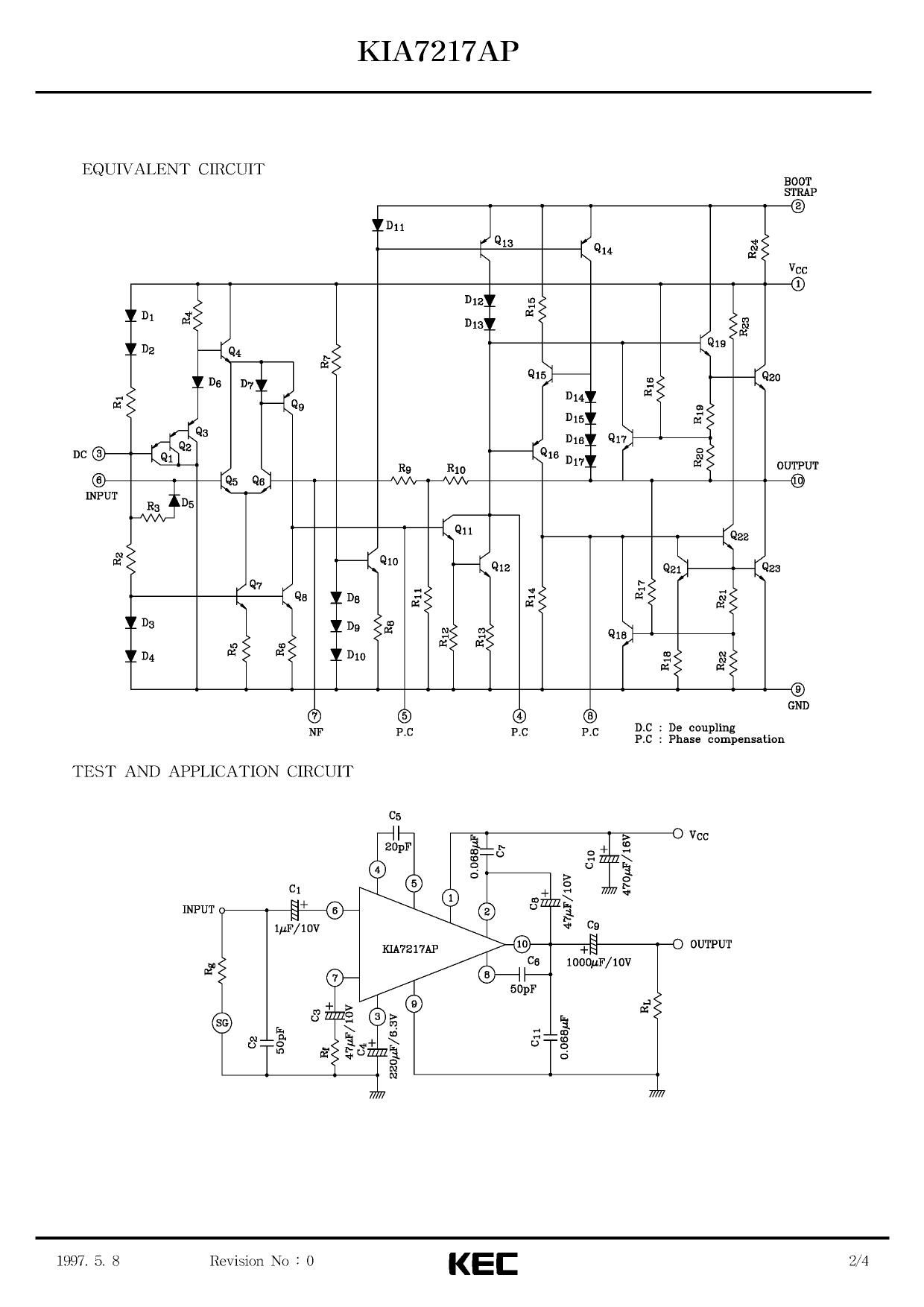 kia7217ap datasheet pdf   pinout