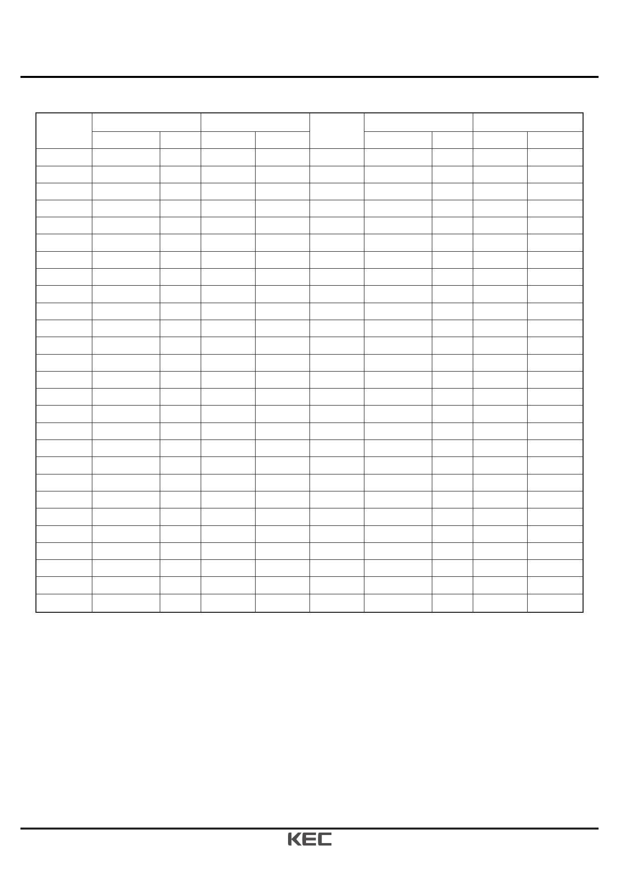 KIC7126 pdf, ピン配列