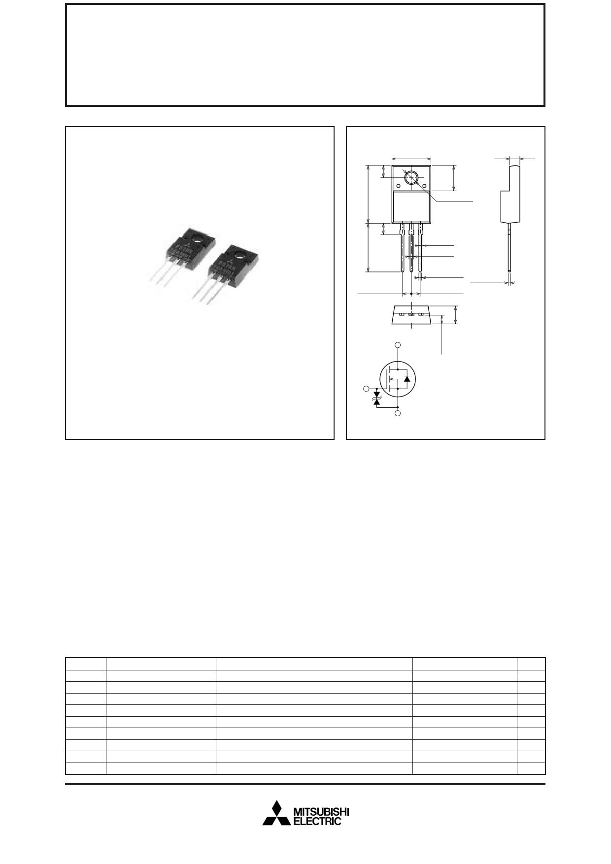 FS7KM-16A datasheet