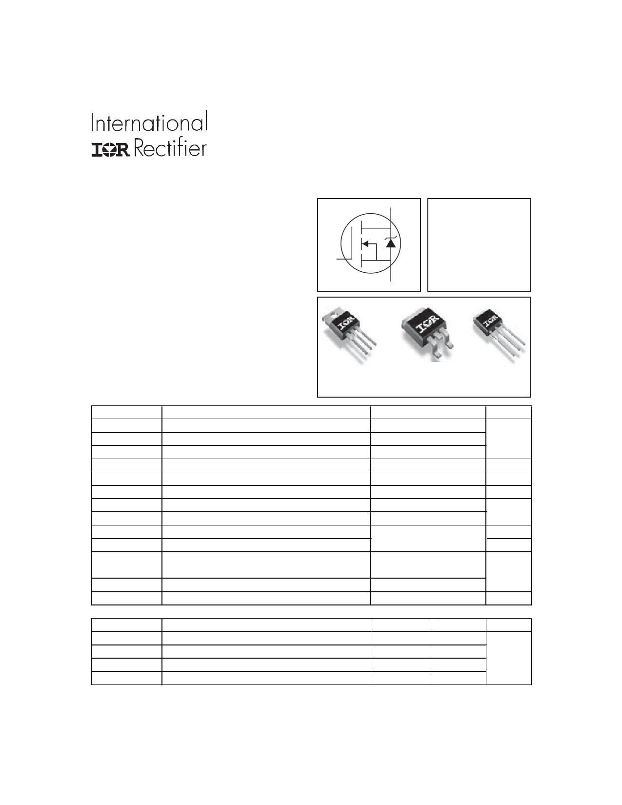 IRFZ46Z Datasheet, IRFZ46Z PDF,ピン配置, 機能