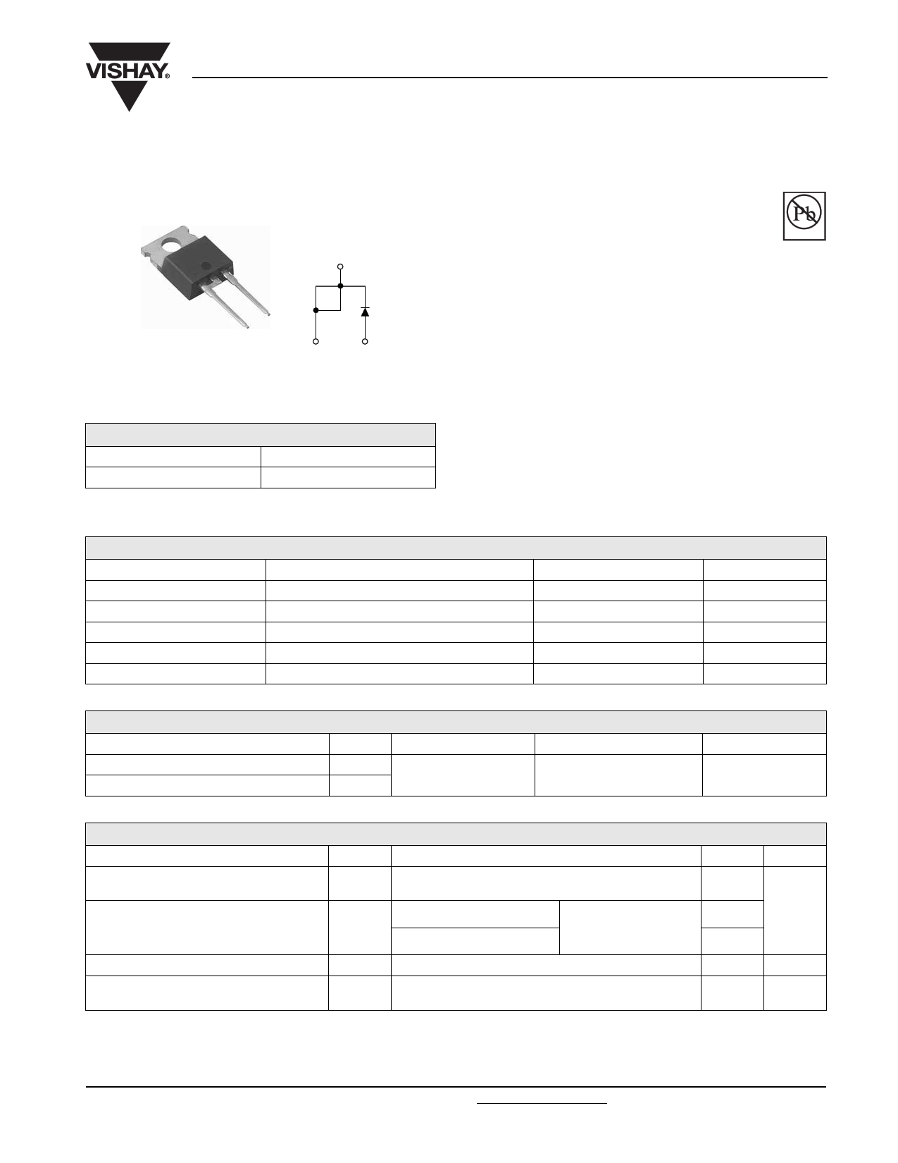 10TQ045PbF Datasheet, 10TQ045PbF PDF,ピン配置, 機能
