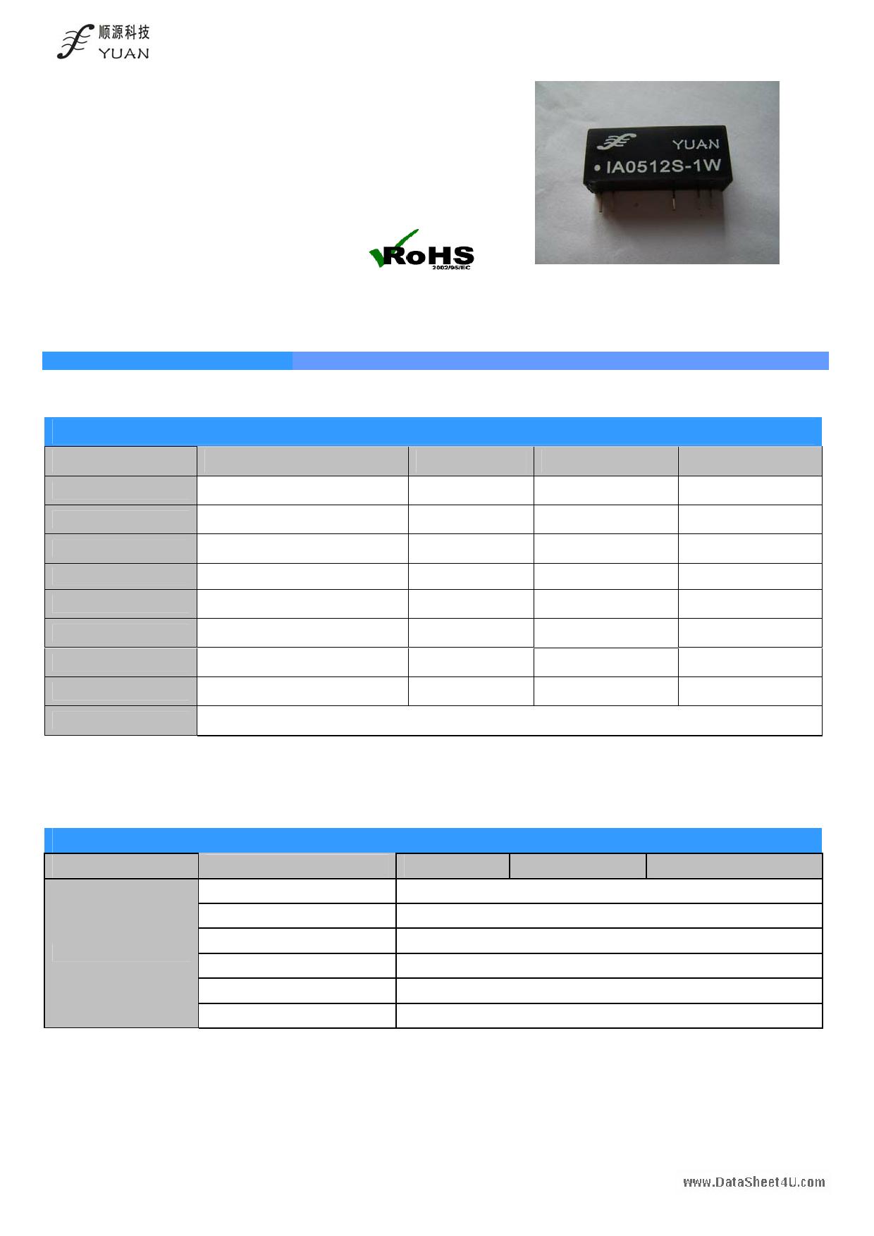 IA05xxS-1W datasheet