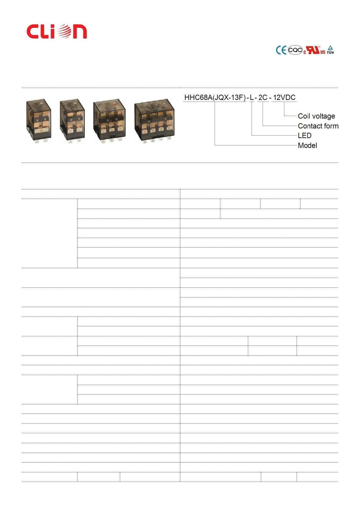 JQX-13F دیتاشیت PDF