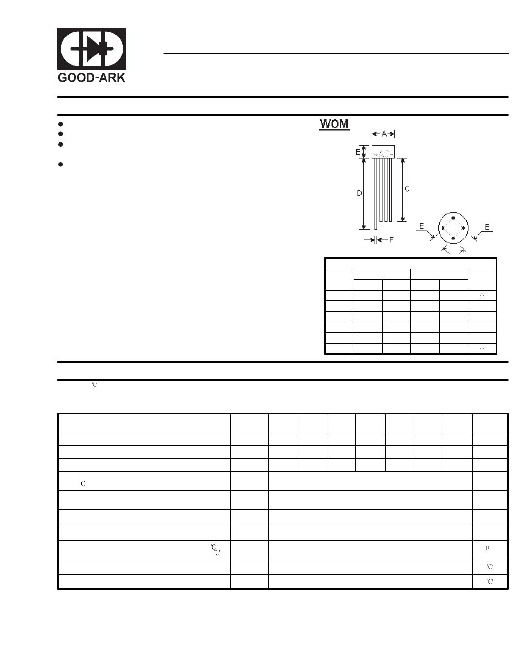 W01M دیتاشیت PDF